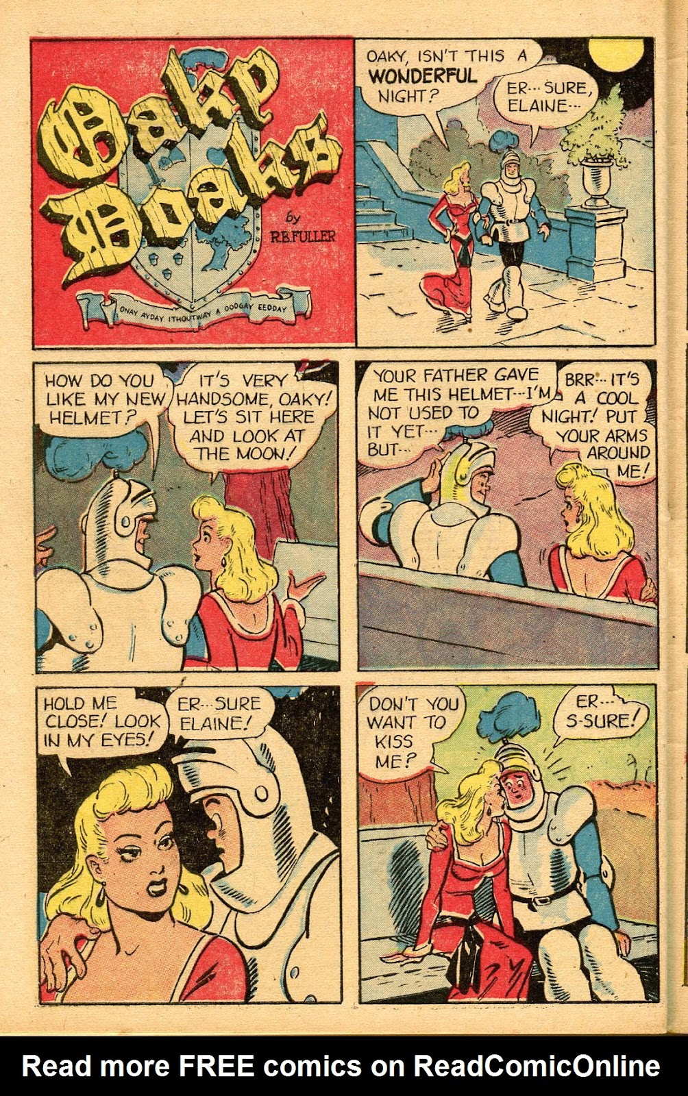 Read online Famous Funnies comic -  Issue #155 - 46
