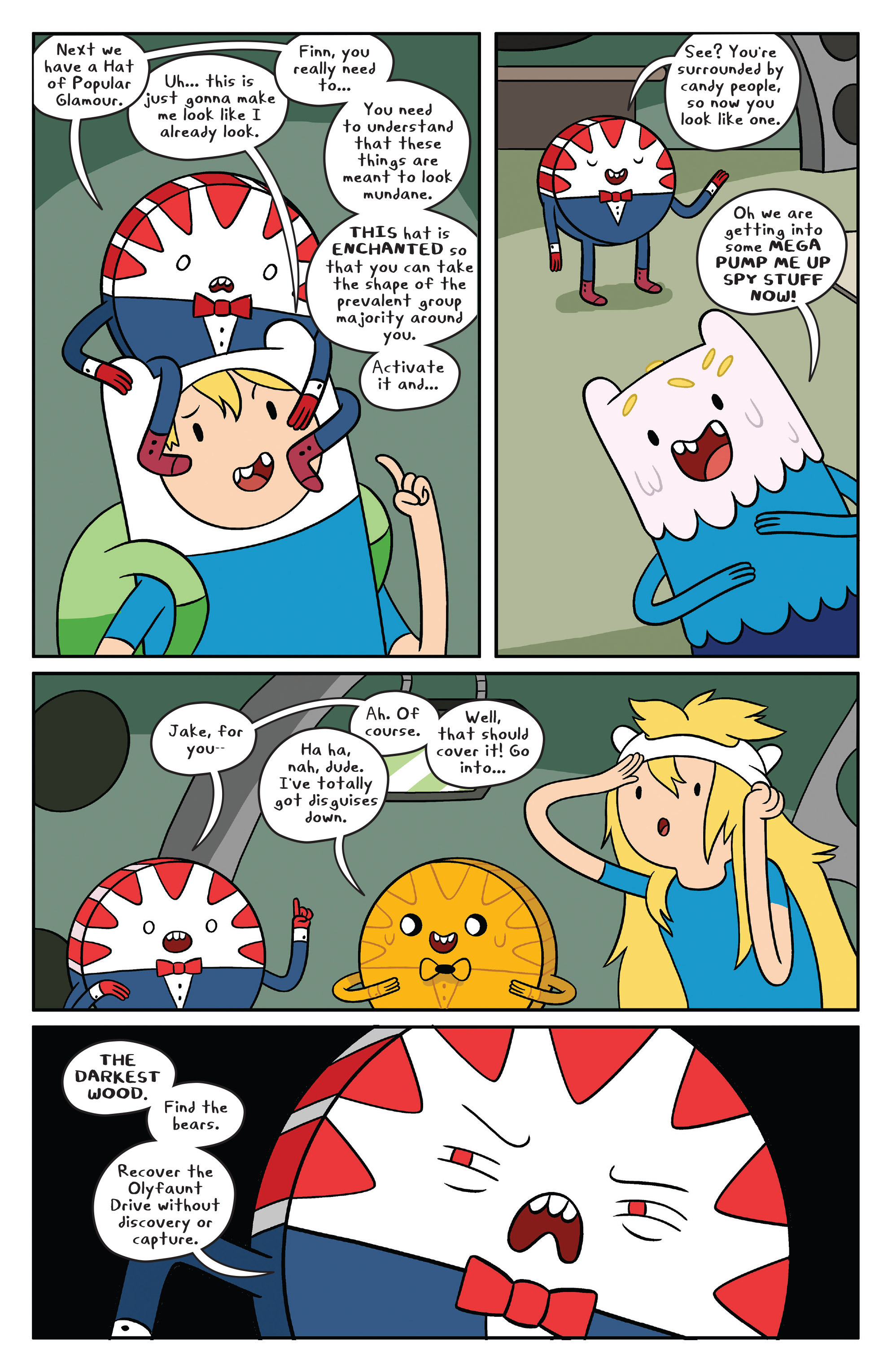 Read online Adventure Time comic -  Issue #41 - 14