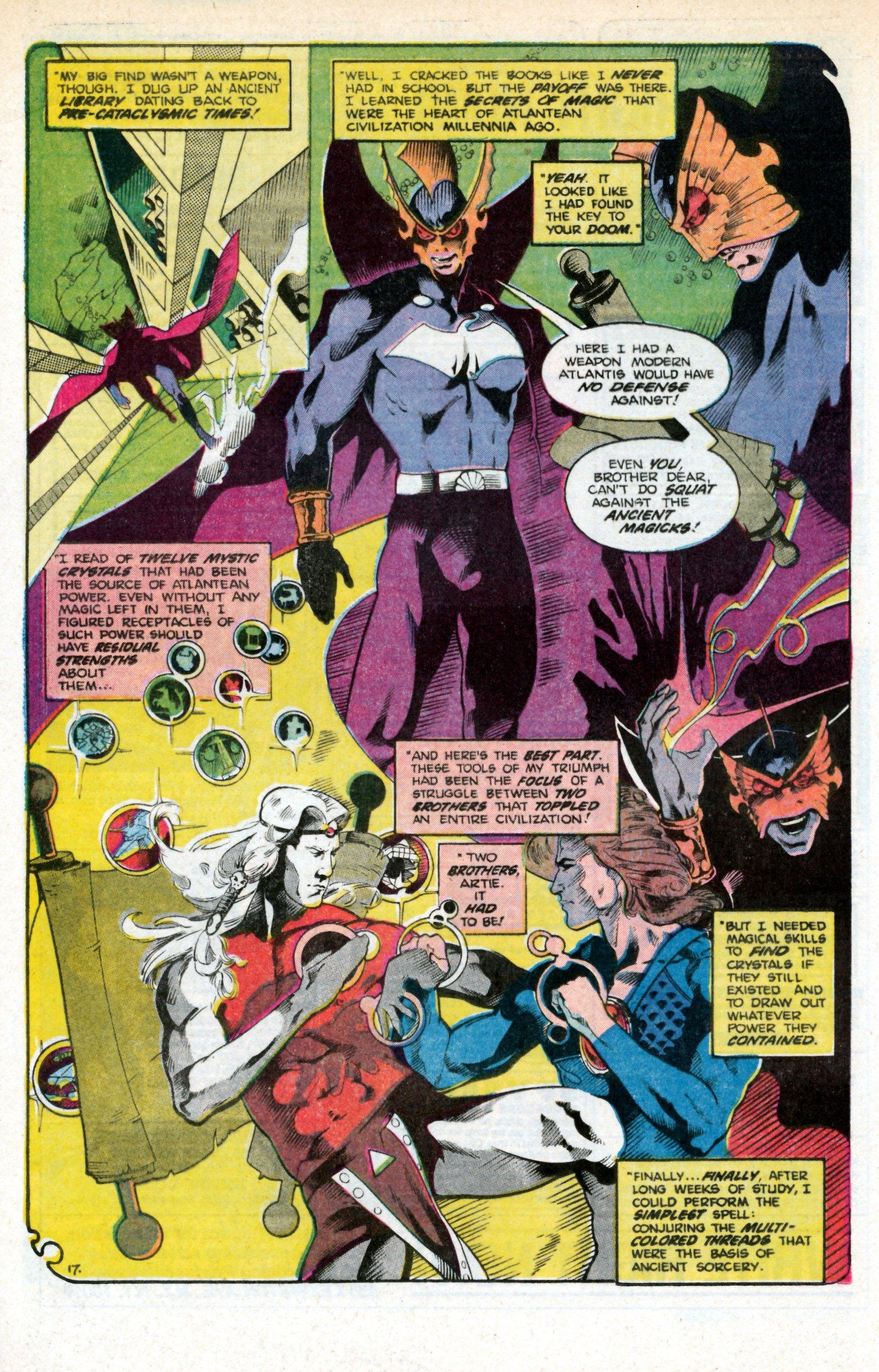Read online Aquaman (1986) comic -  Issue #3 - 27