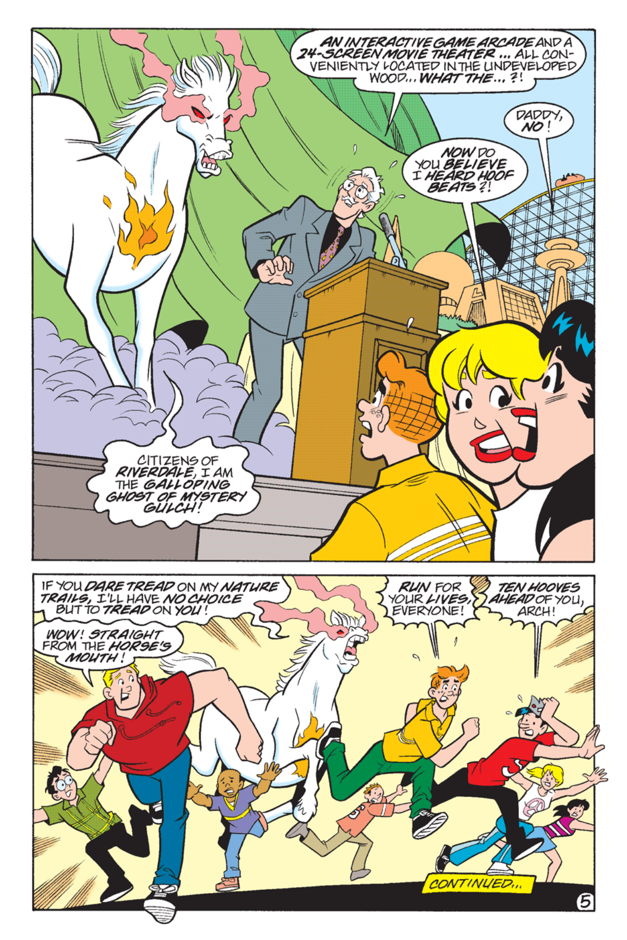 Read online Archie's Weird Mysteries comic -  Issue #23 - 7