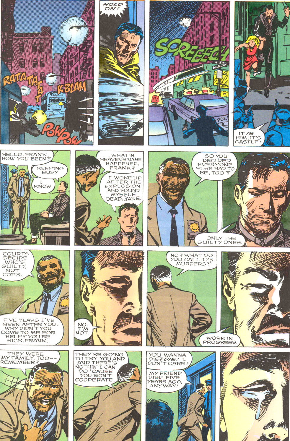 The Punisher Movie Special issue Full - Page 52