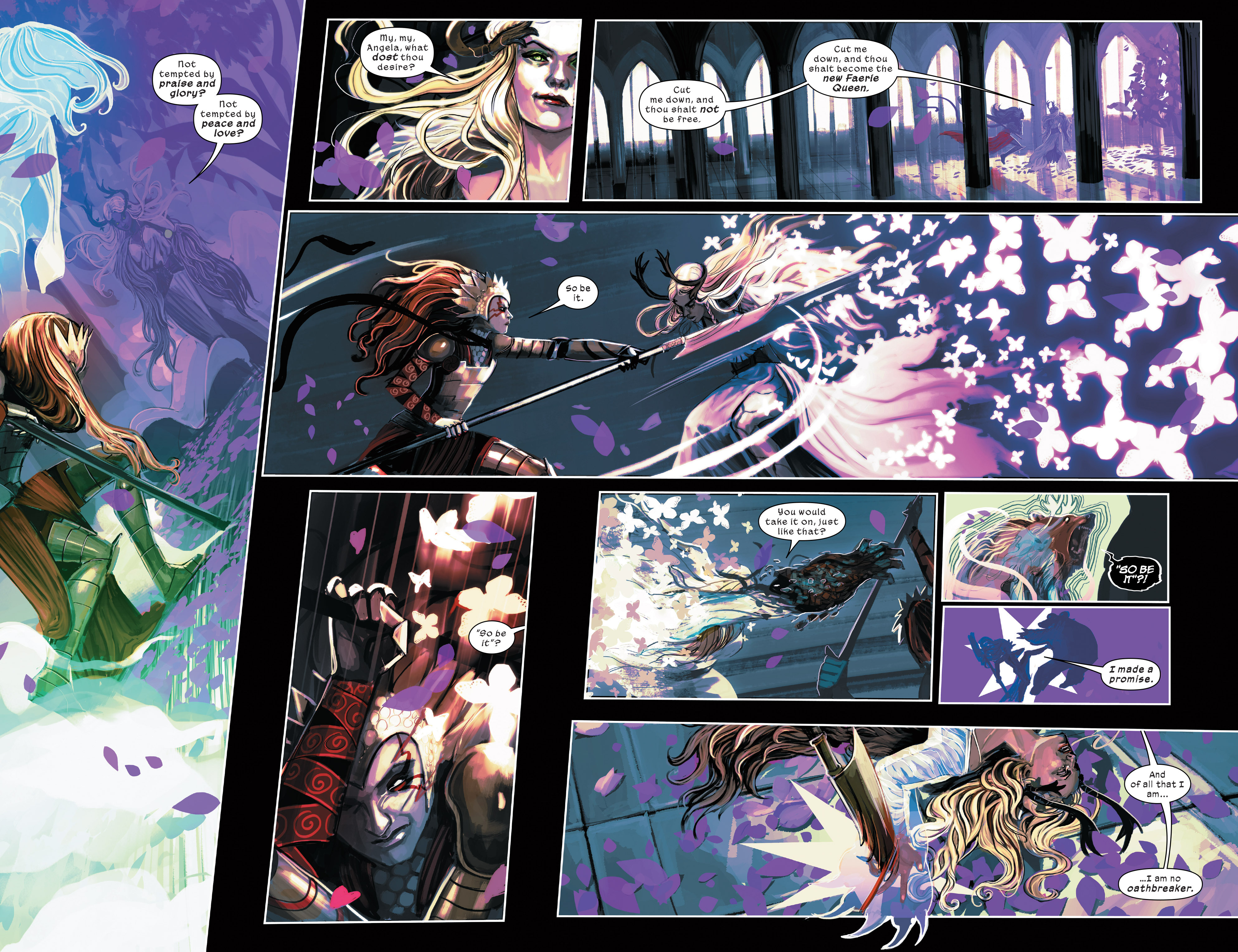 Read online 1602 Witch Hunter Angela comic -  Issue #4 - 9