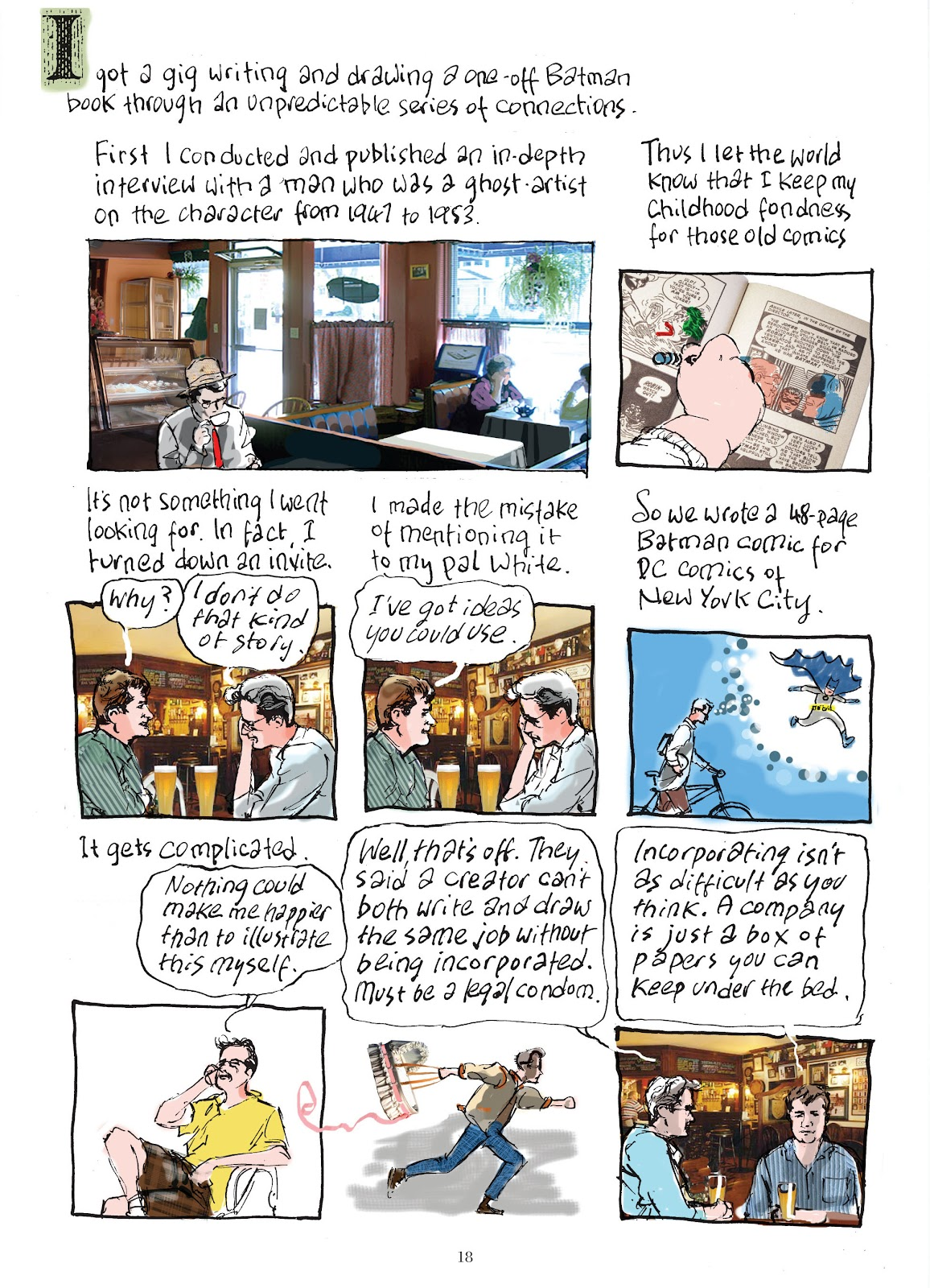 Read online The Lovely Horrible Stuff comic -  Issue # TPB - 20