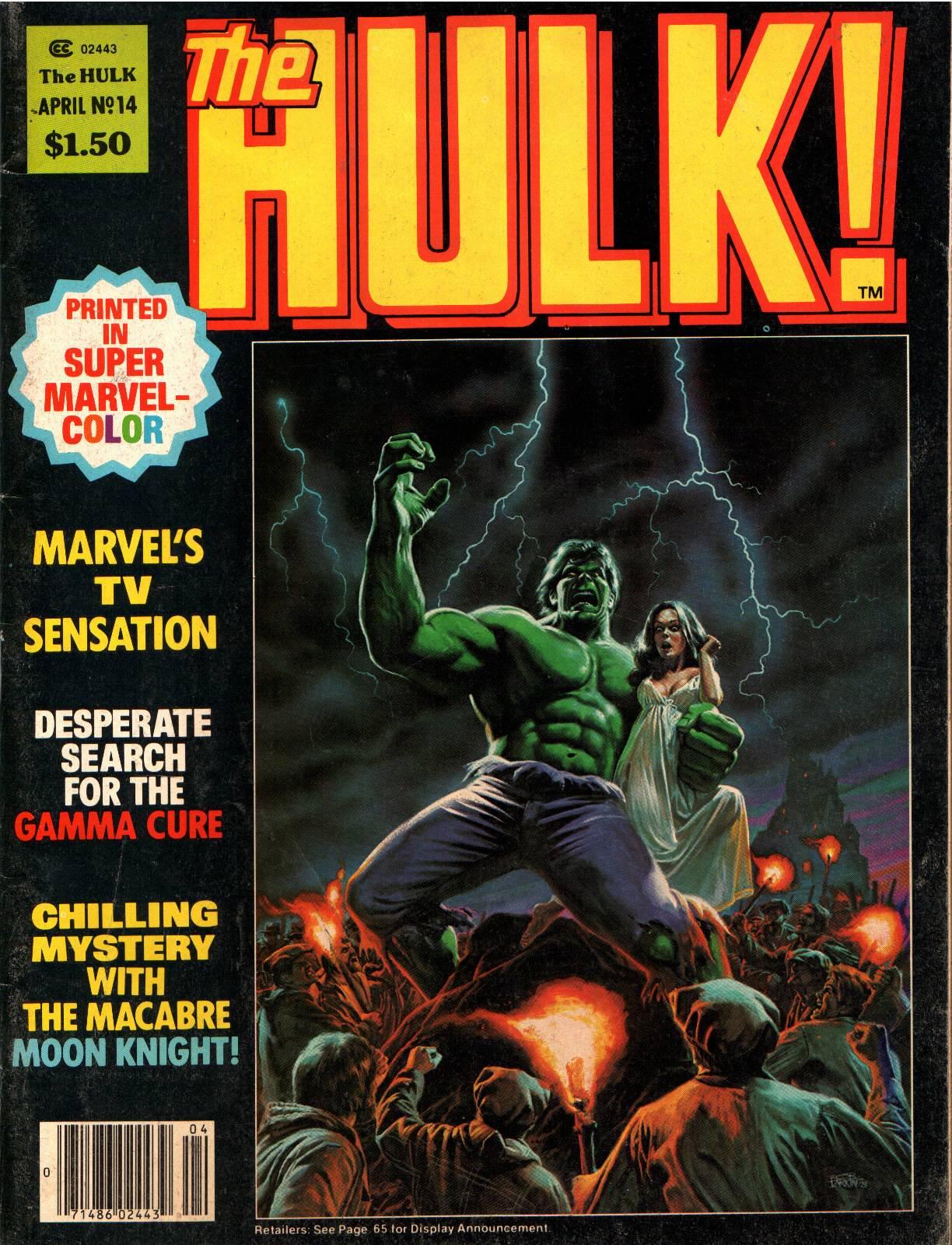 Hulk (1978) 14 Page 1