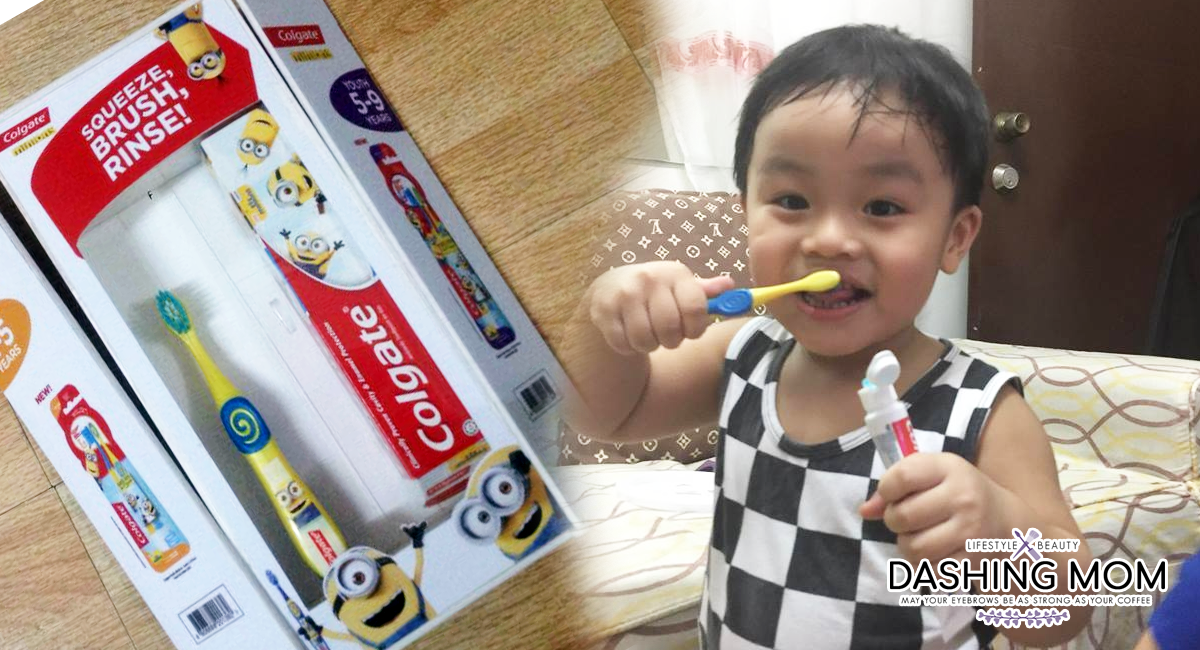 Make brushing more fun with Minions & Harvey