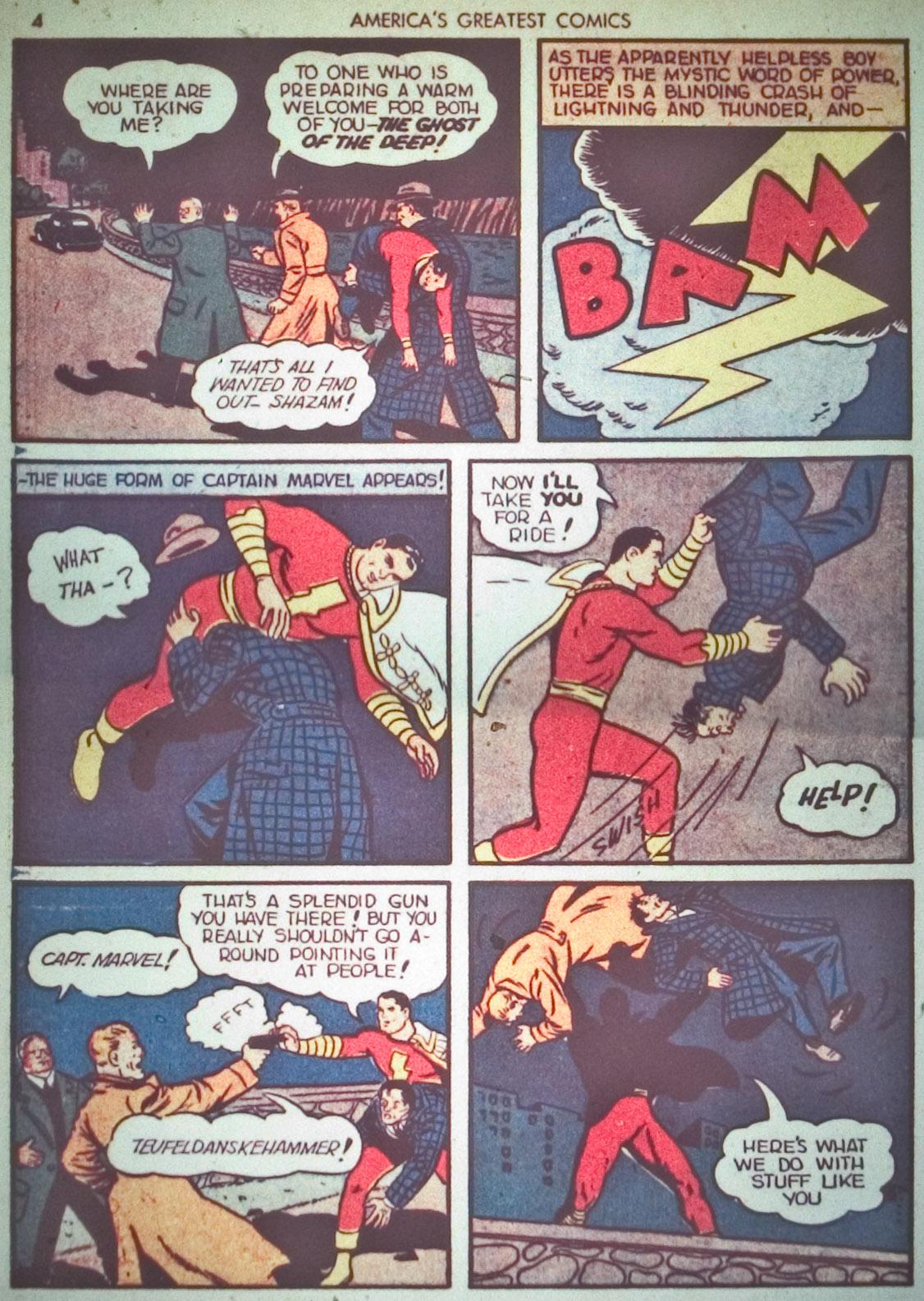 Read online America's Greatest Comics comic -  Issue #1 - 7
