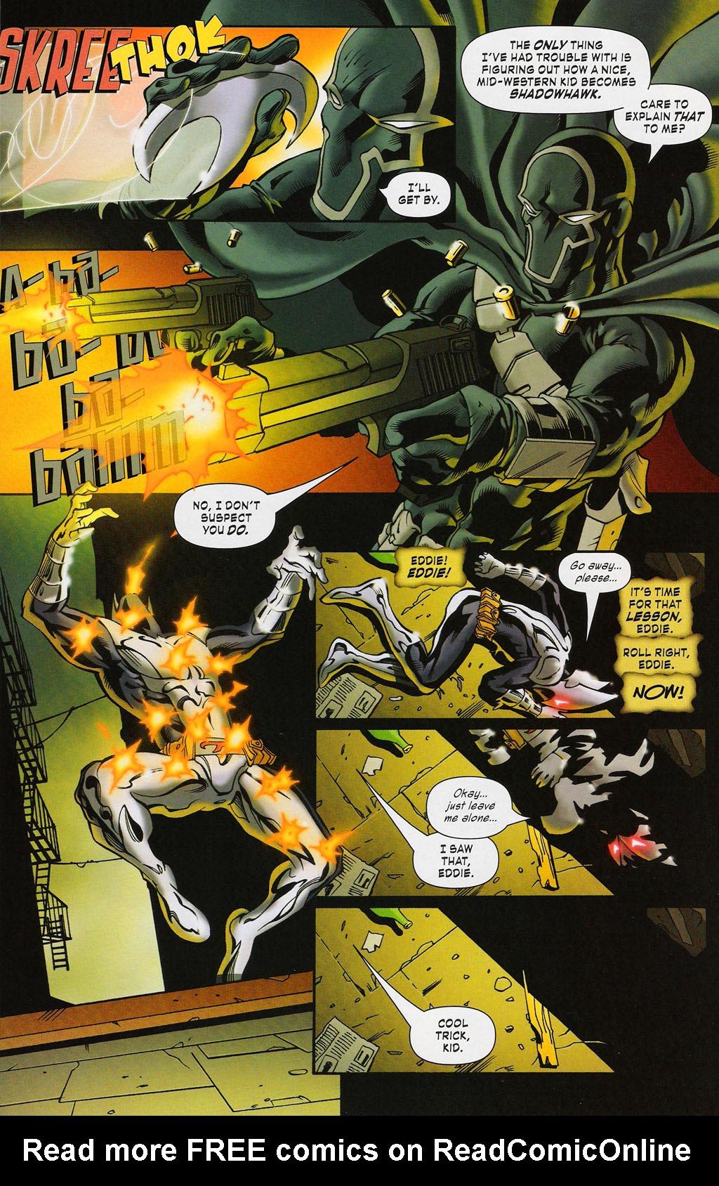 Read online ShadowHawk (2005) comic -  Issue #3 - 22