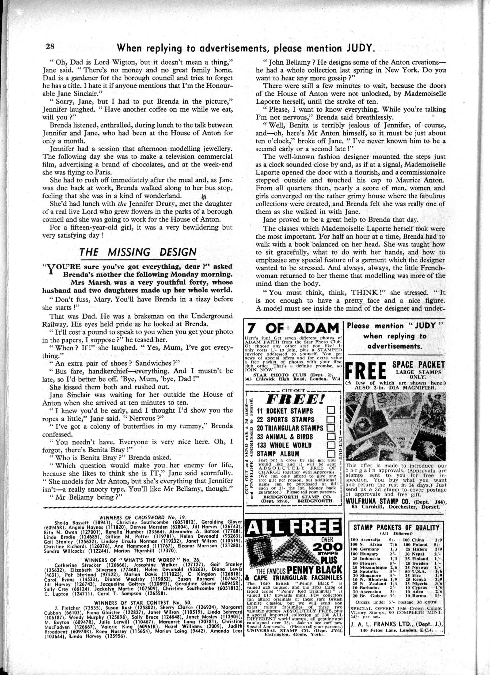 Read online Judy comic -  Issue #189 - 28