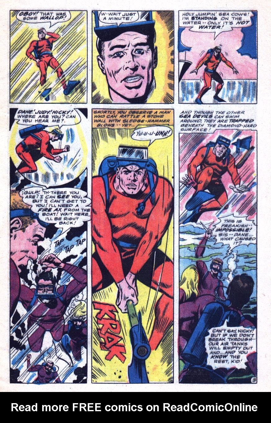 Read online Sea Devils comic -  Issue #31 - 6