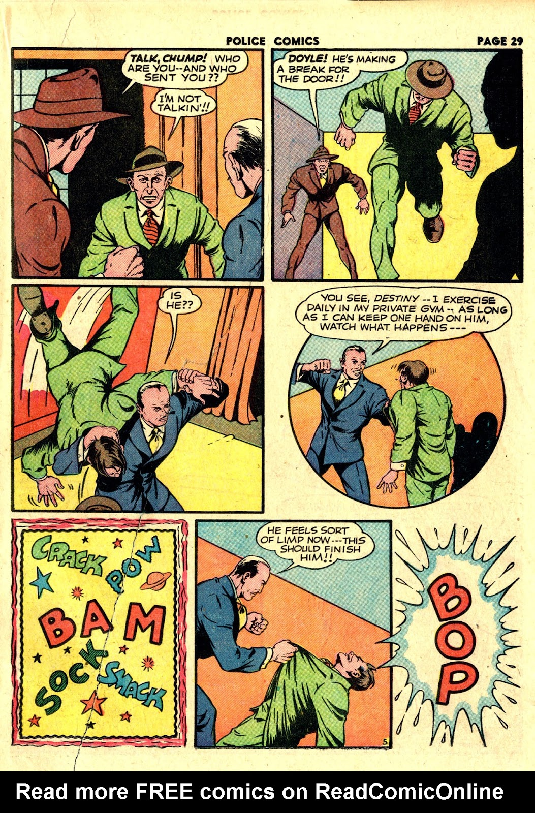 Police Comics issue 19 - Page 31