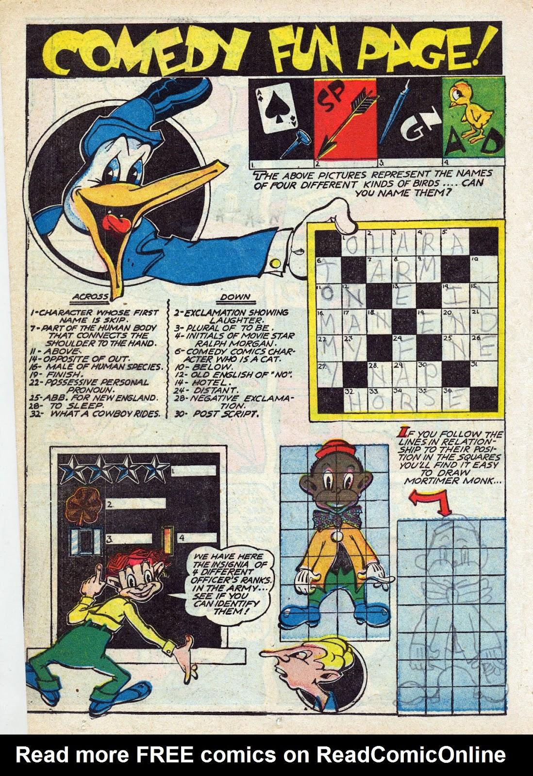 Read online Comedy Comics (1942) comic -  Issue #13 - 43