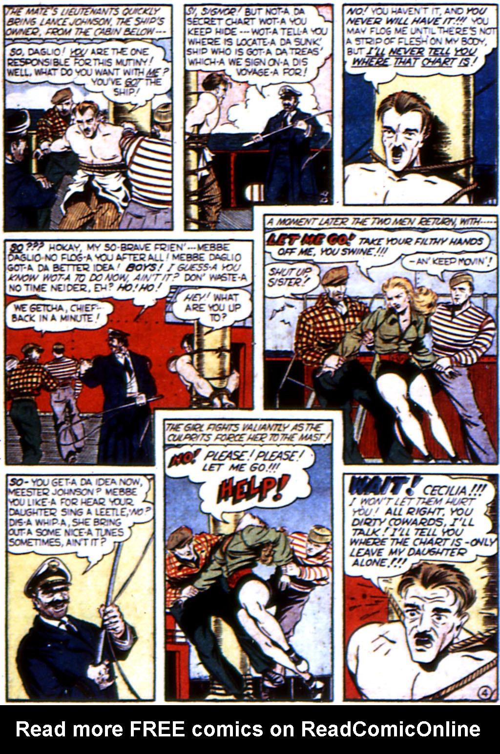 Read online All-Winners Comics comic -  Issue #3 - 46