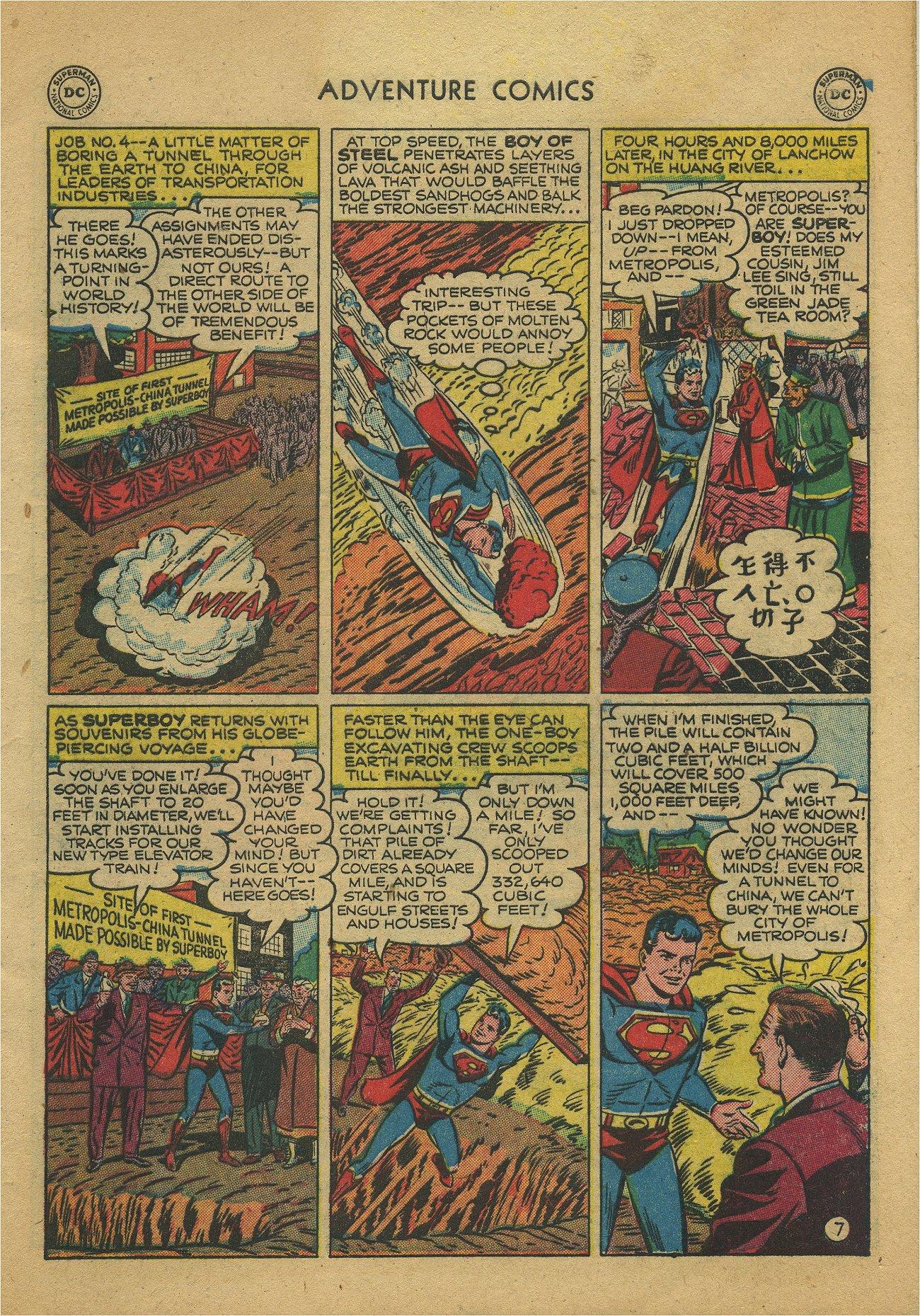 Read online Adventure Comics (1938) comic -  Issue #171 - 9