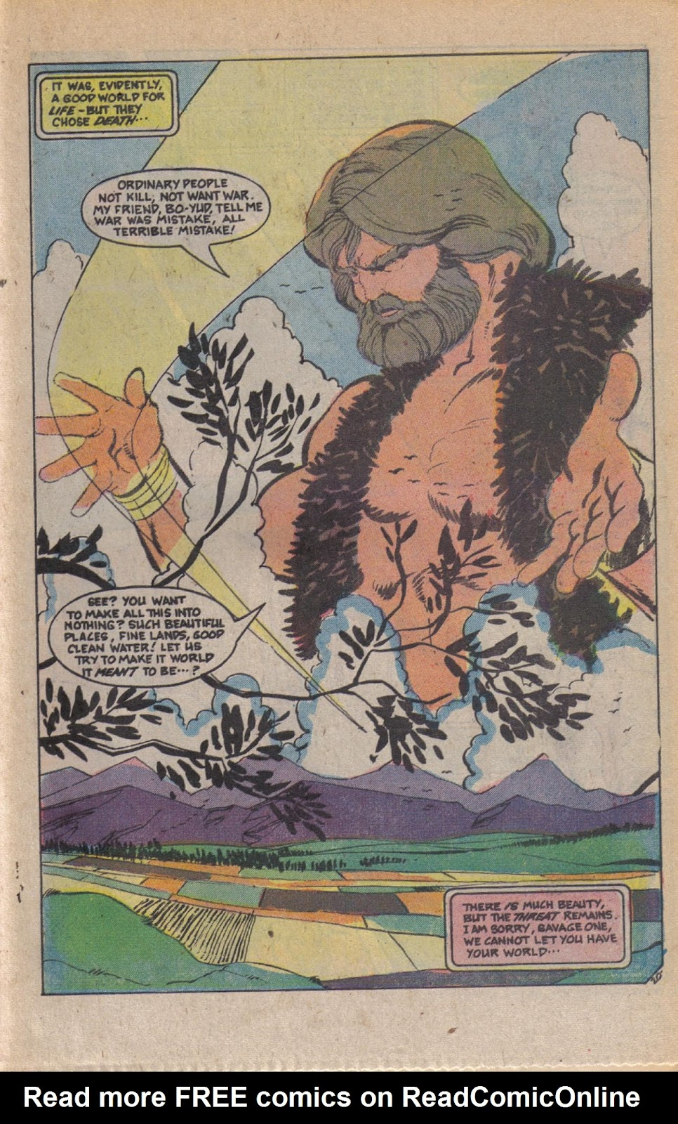 Read online Doomsday   1 (1975) comic -  Issue #9 - 26