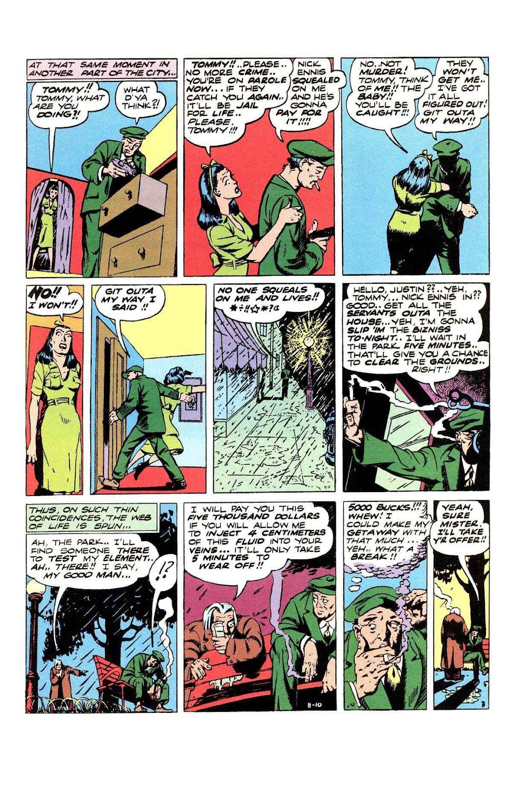 Read online Will Eisner's The Spirit Archives comic -  Issue # TPB 3 (Part 1) - 44