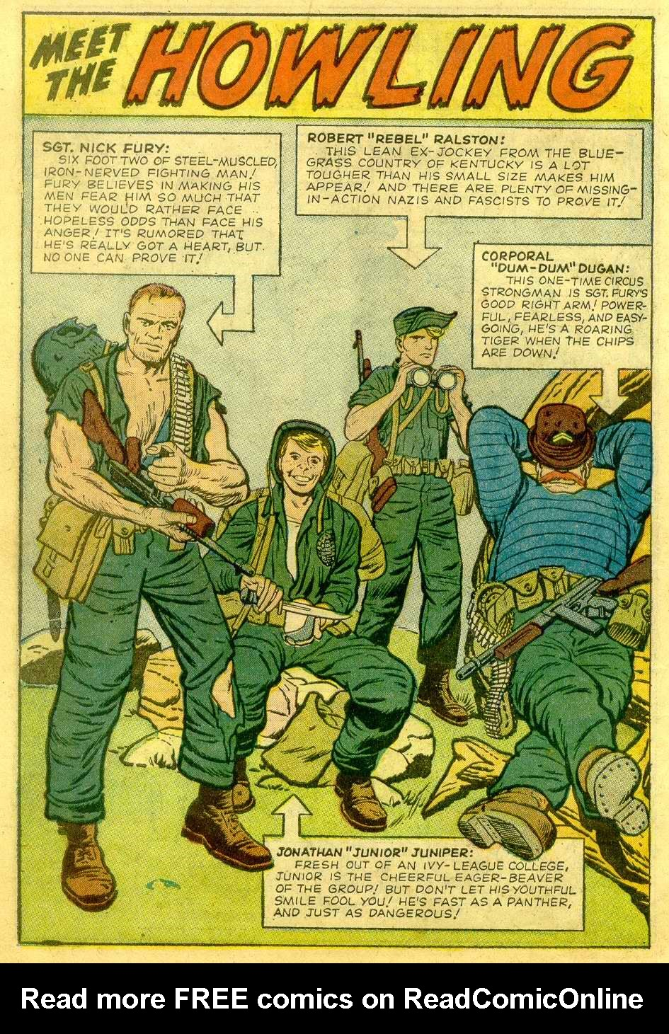 Read online Sgt. Fury comic -  Issue # _Annual 1 - 20