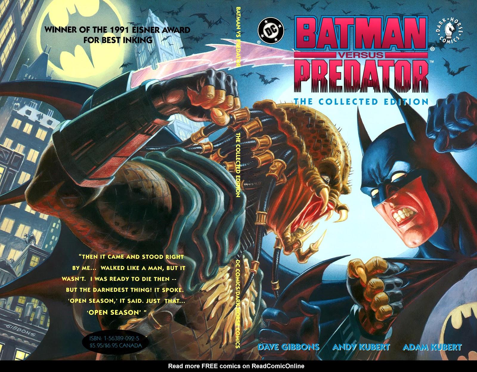 Batman Versus Predator Full Page 1