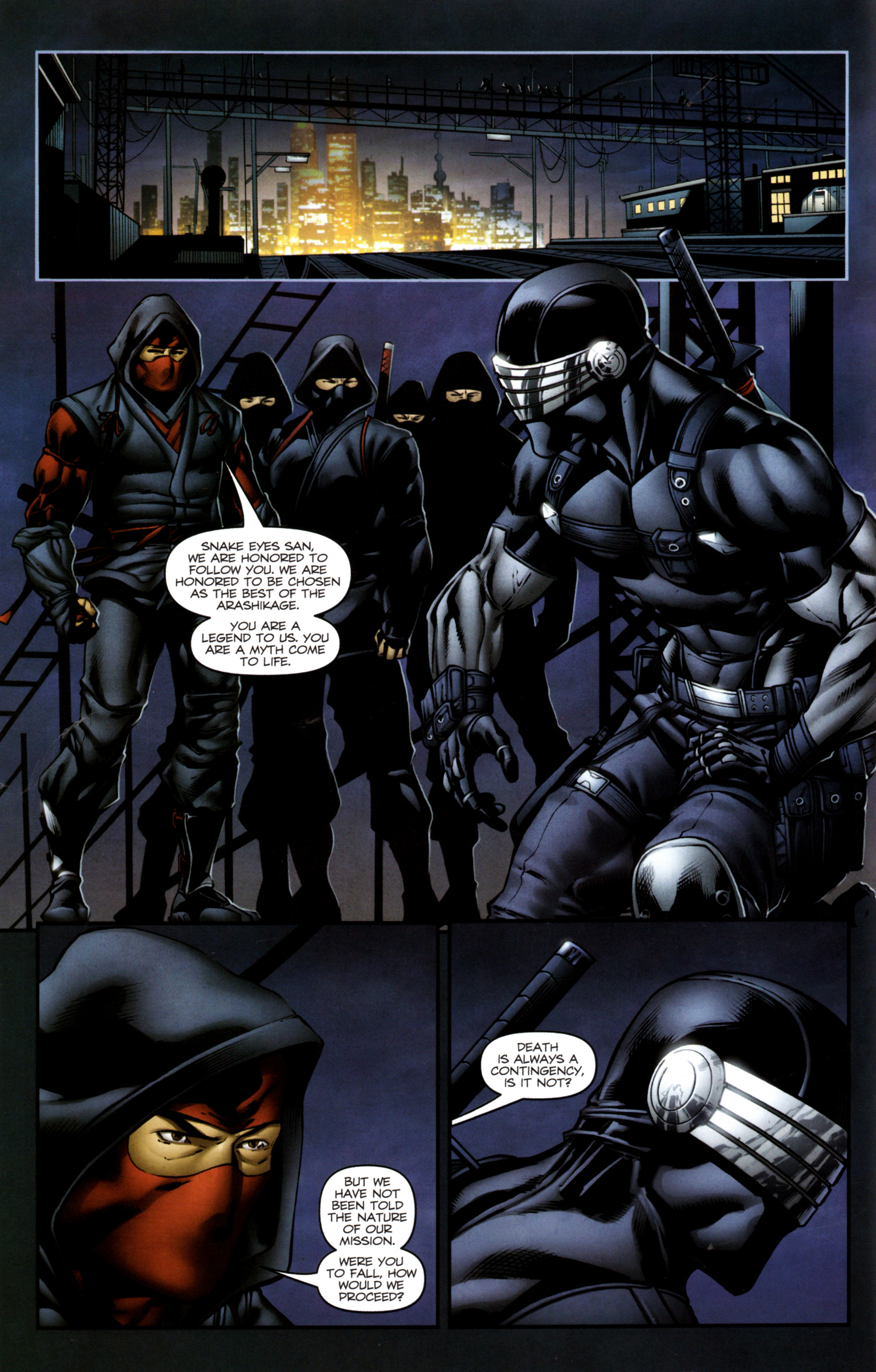 Read online Snake Eyes and Storm Shadow comic -  Issue #13 - 15