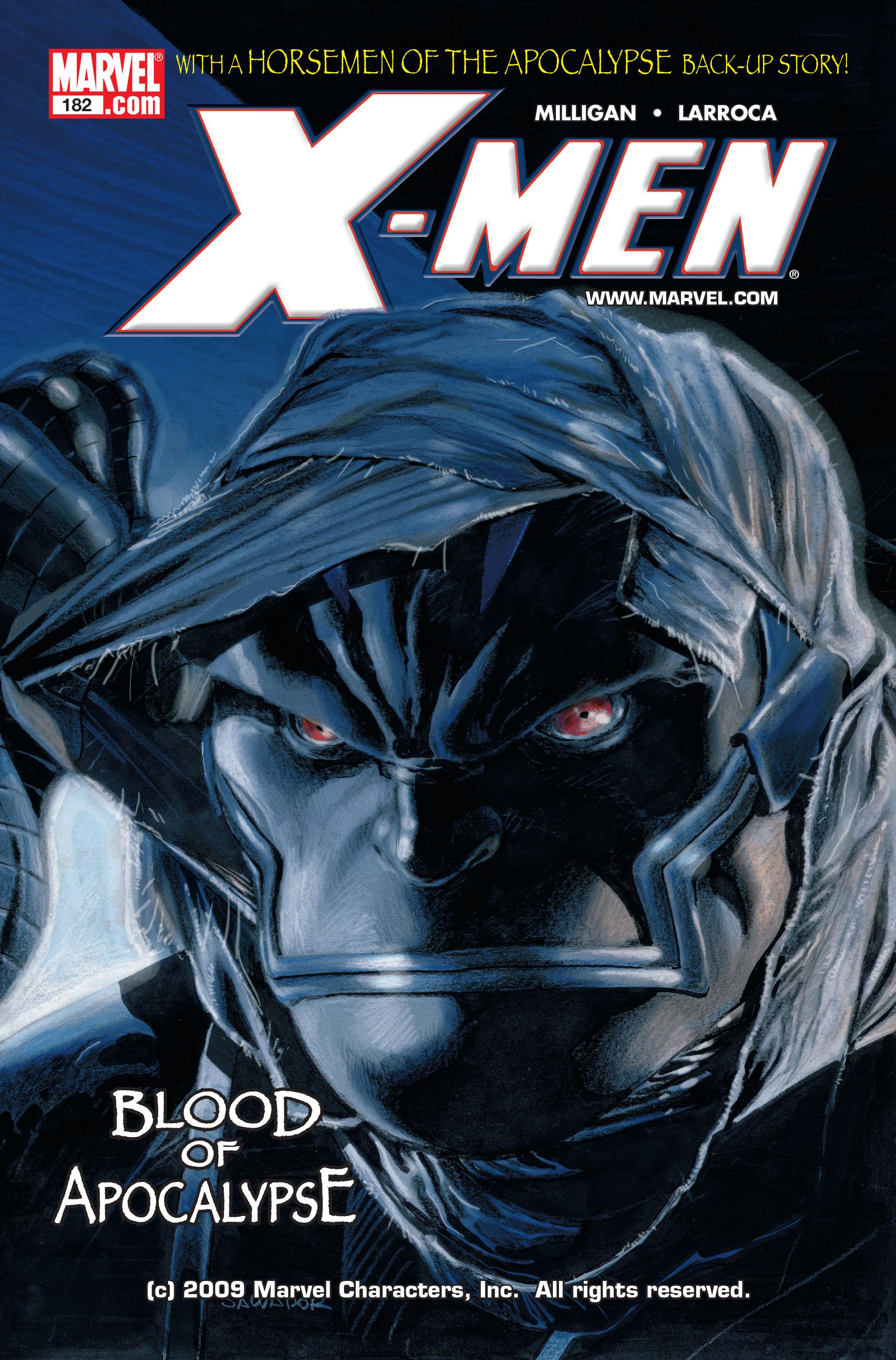 X-Men (1991) 182 Page 0