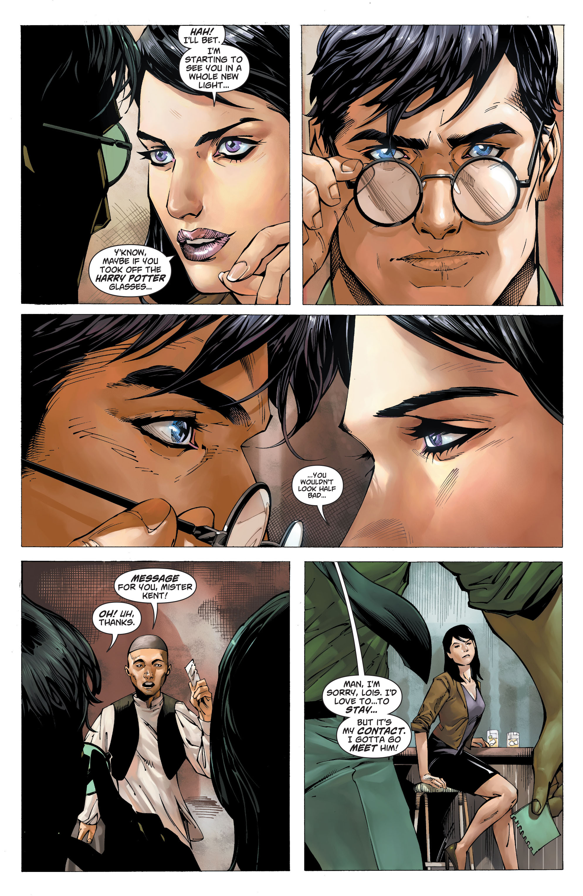 Read online Action Comics (2011) comic -  Issue #19 - 5