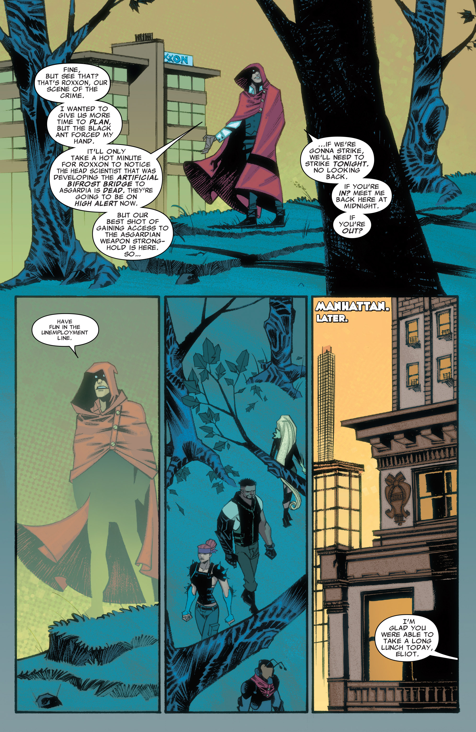 Read online Illuminati comic -  Issue #3 - 9