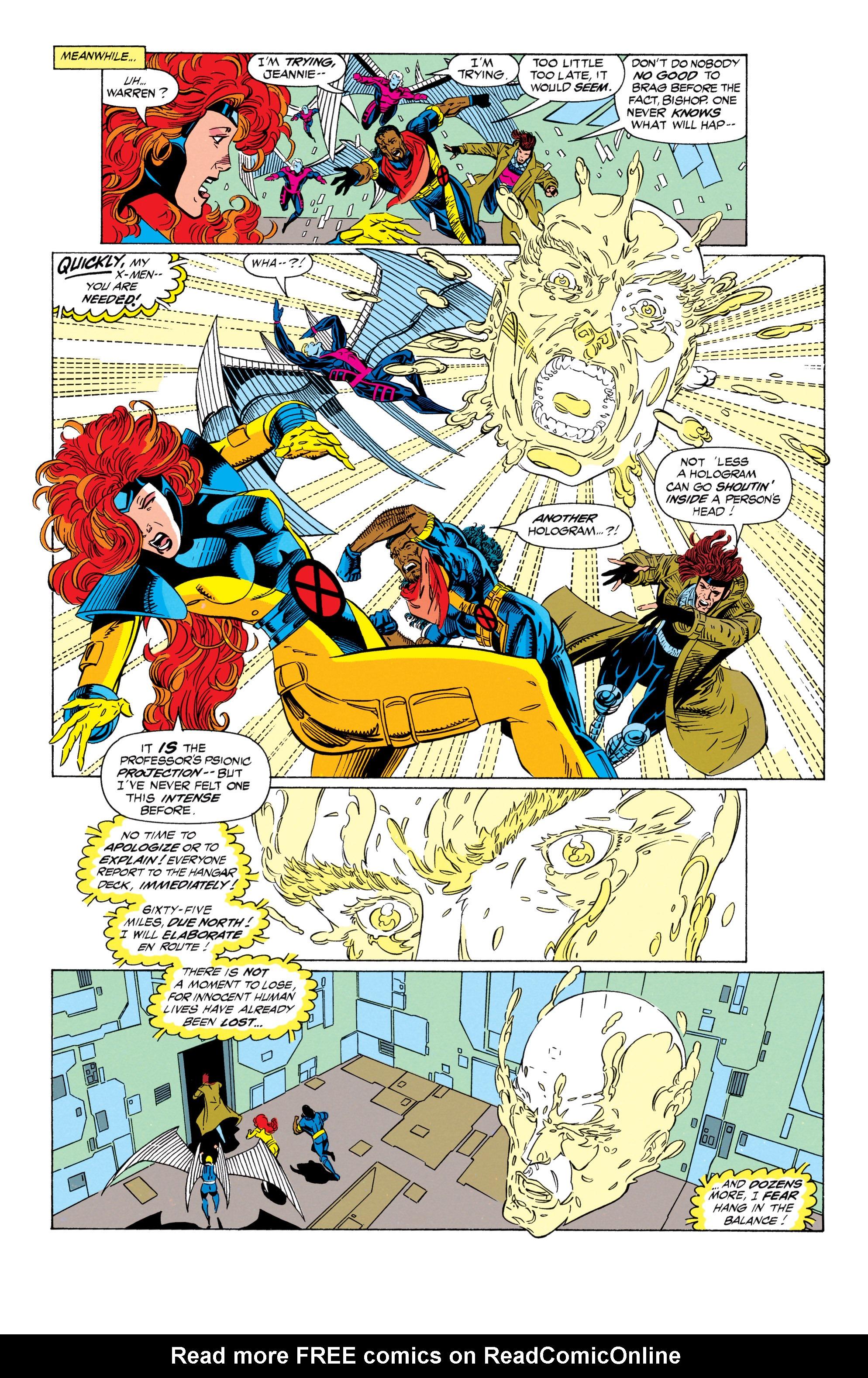 Read online Uncanny X-Men (1963) comic -  Issue #298 - 9