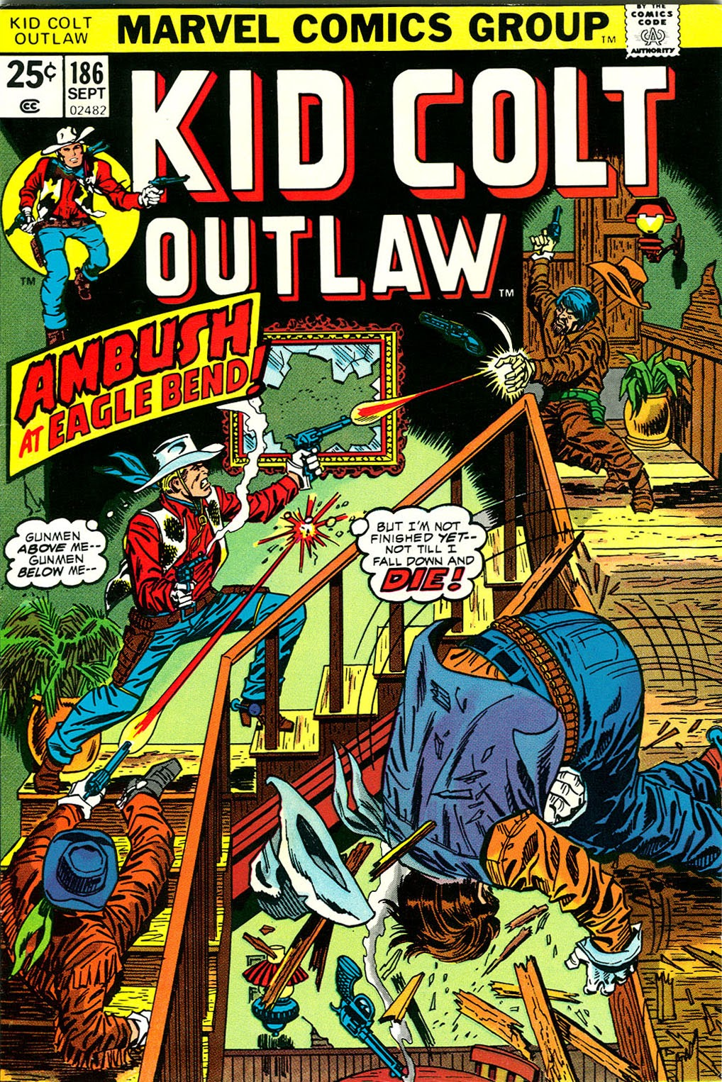 Kid Colt Outlaw issue 186 - Page 1