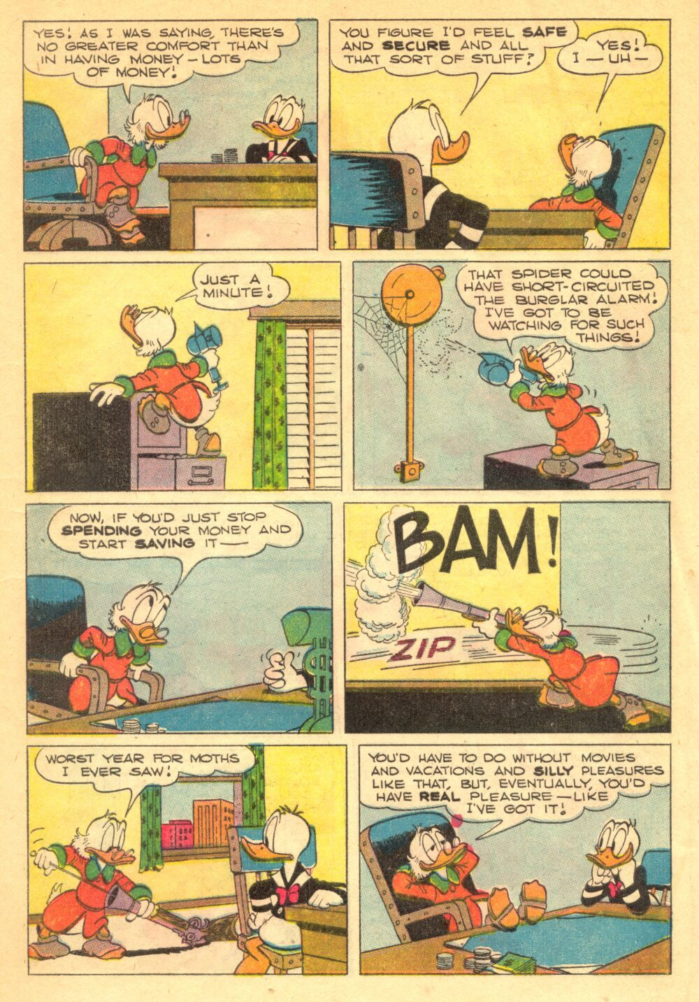 Read online Uncle Scrooge (1953) comic -  Issue #1 - 5