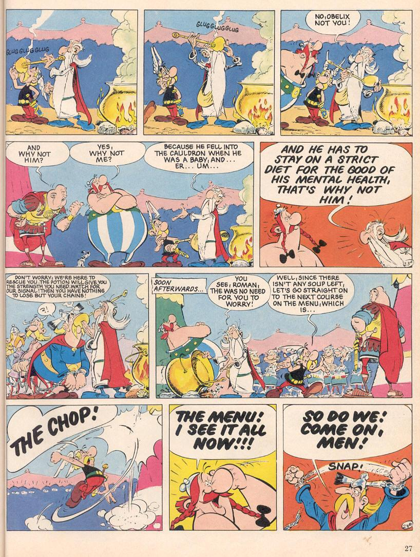 Read online Asterix comic -  Issue #25 - 24