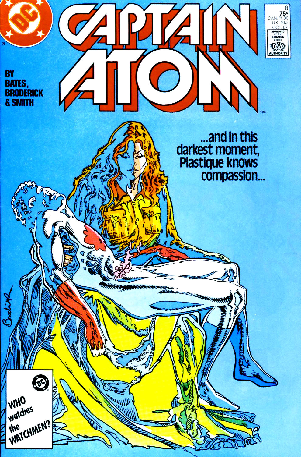 Captain Atom (1987) 8 Page 1
