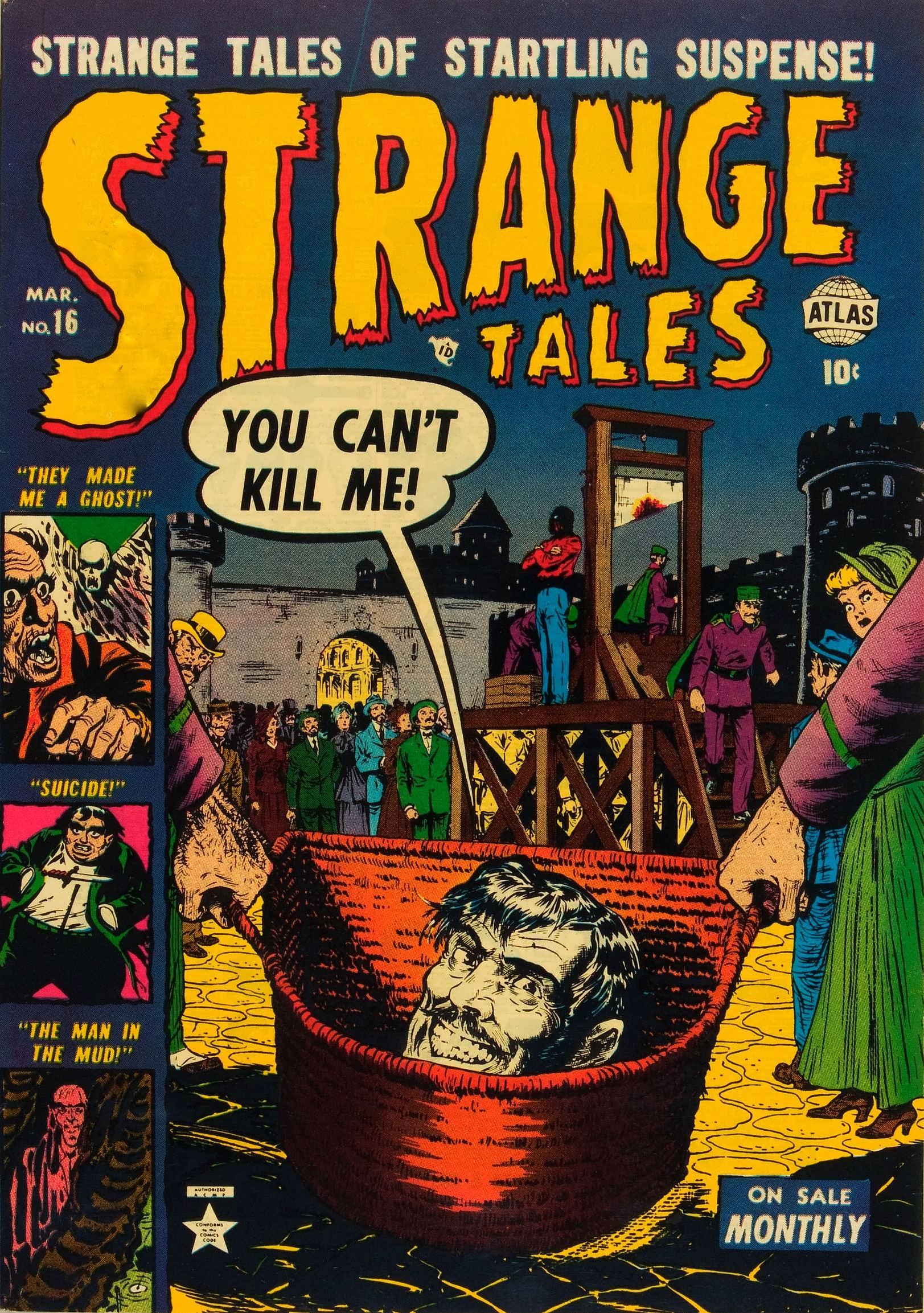 Strange Tales (1951) 16 Page 1