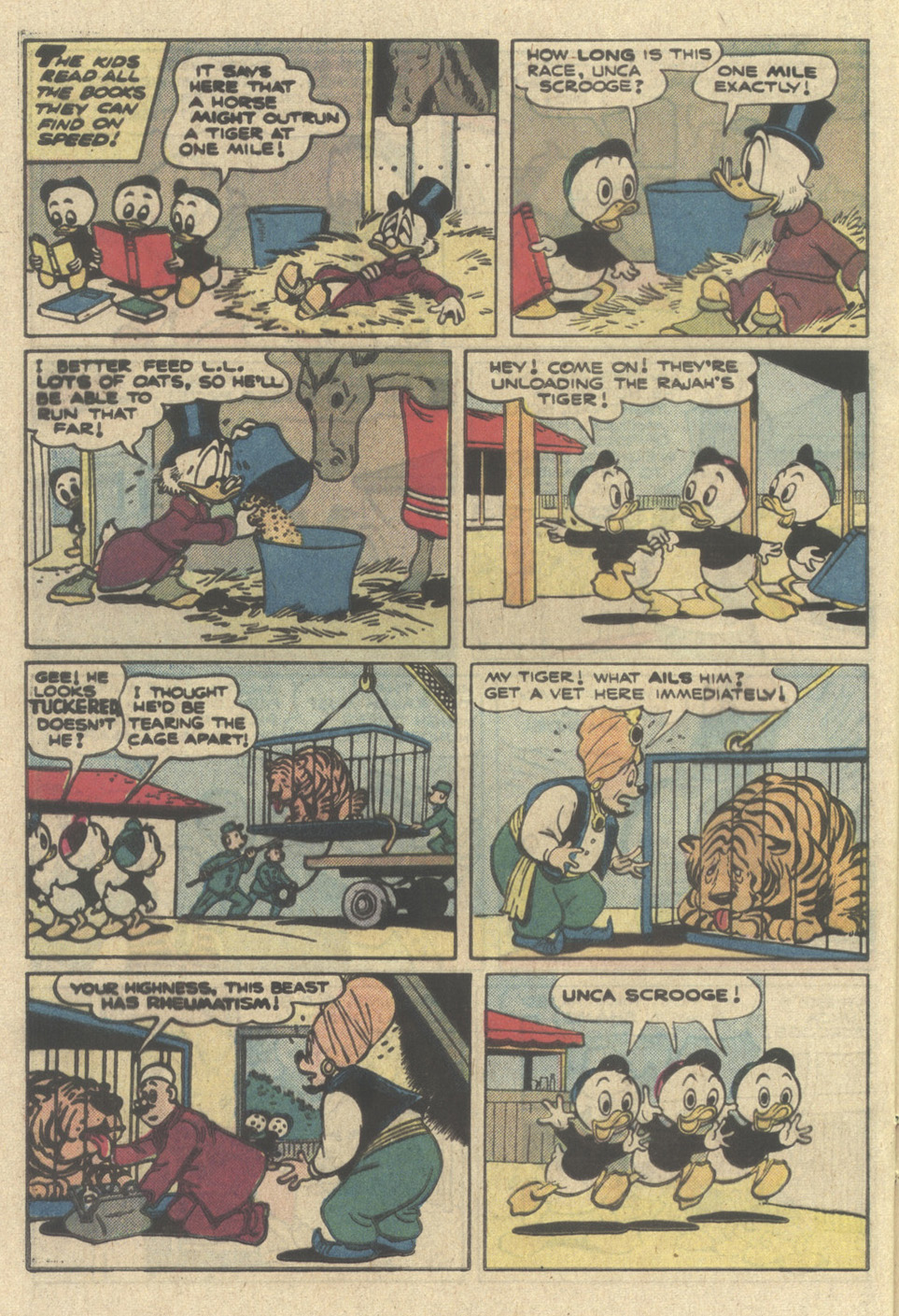 Read online Uncle Scrooge (1953) comic -  Issue #214 - 20