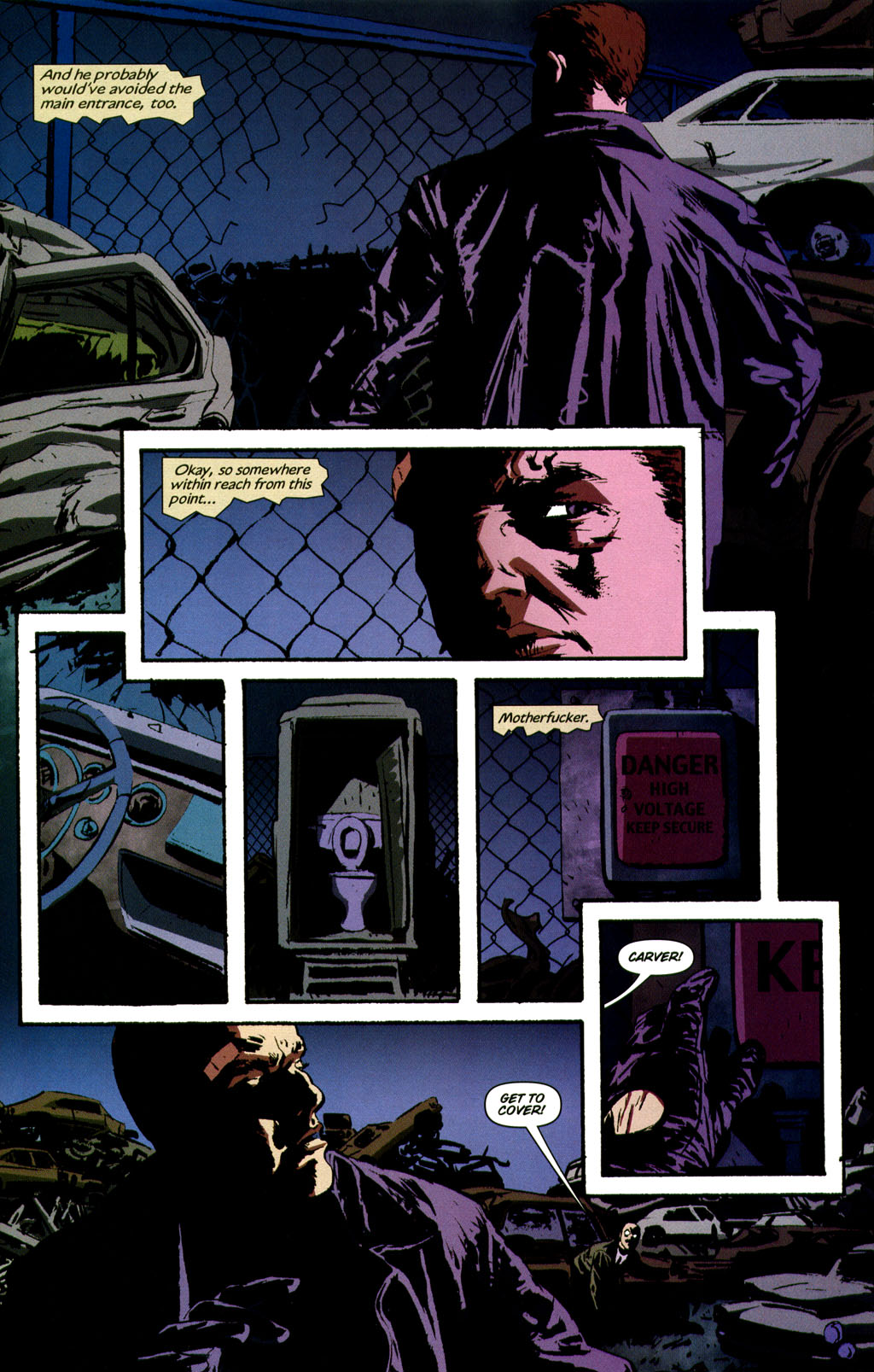 Read online Sleeper comic -  Issue #9 - 18