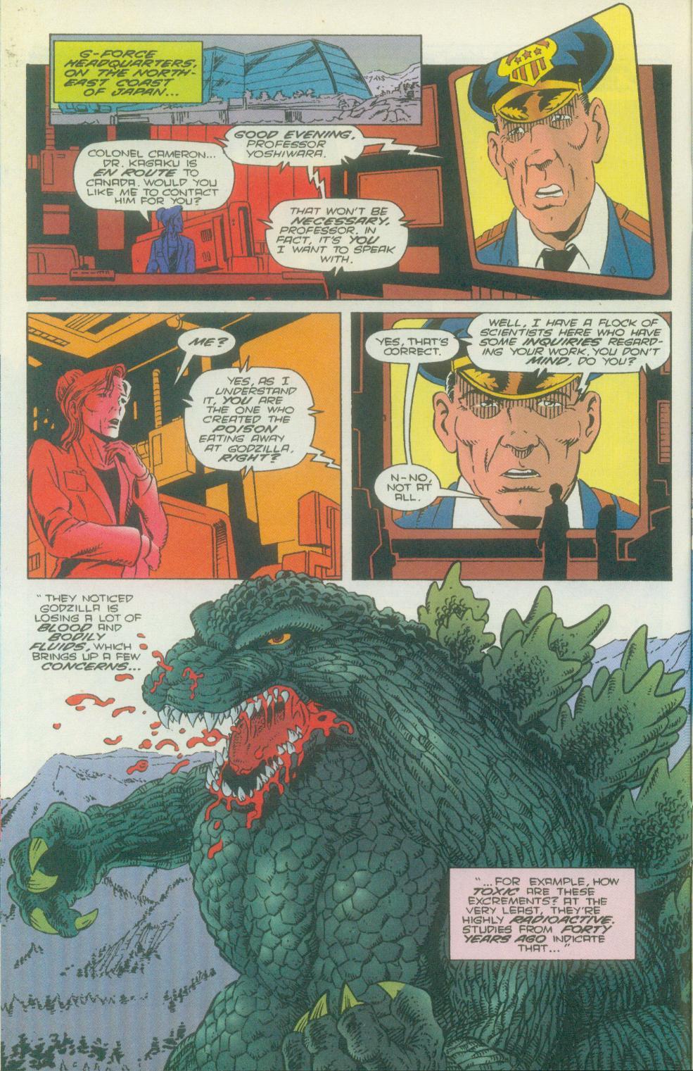 Godzilla (1995) Issue #2 #3 - English 11