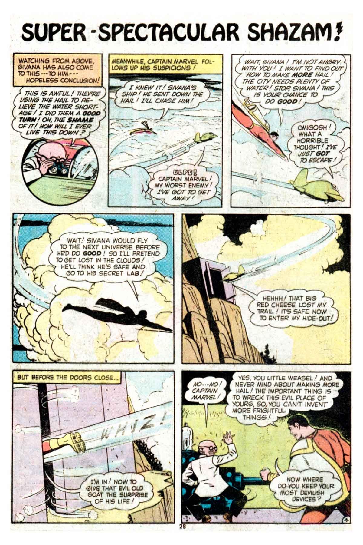 Read online Shazam! (1973) comic -  Issue #15 - 28