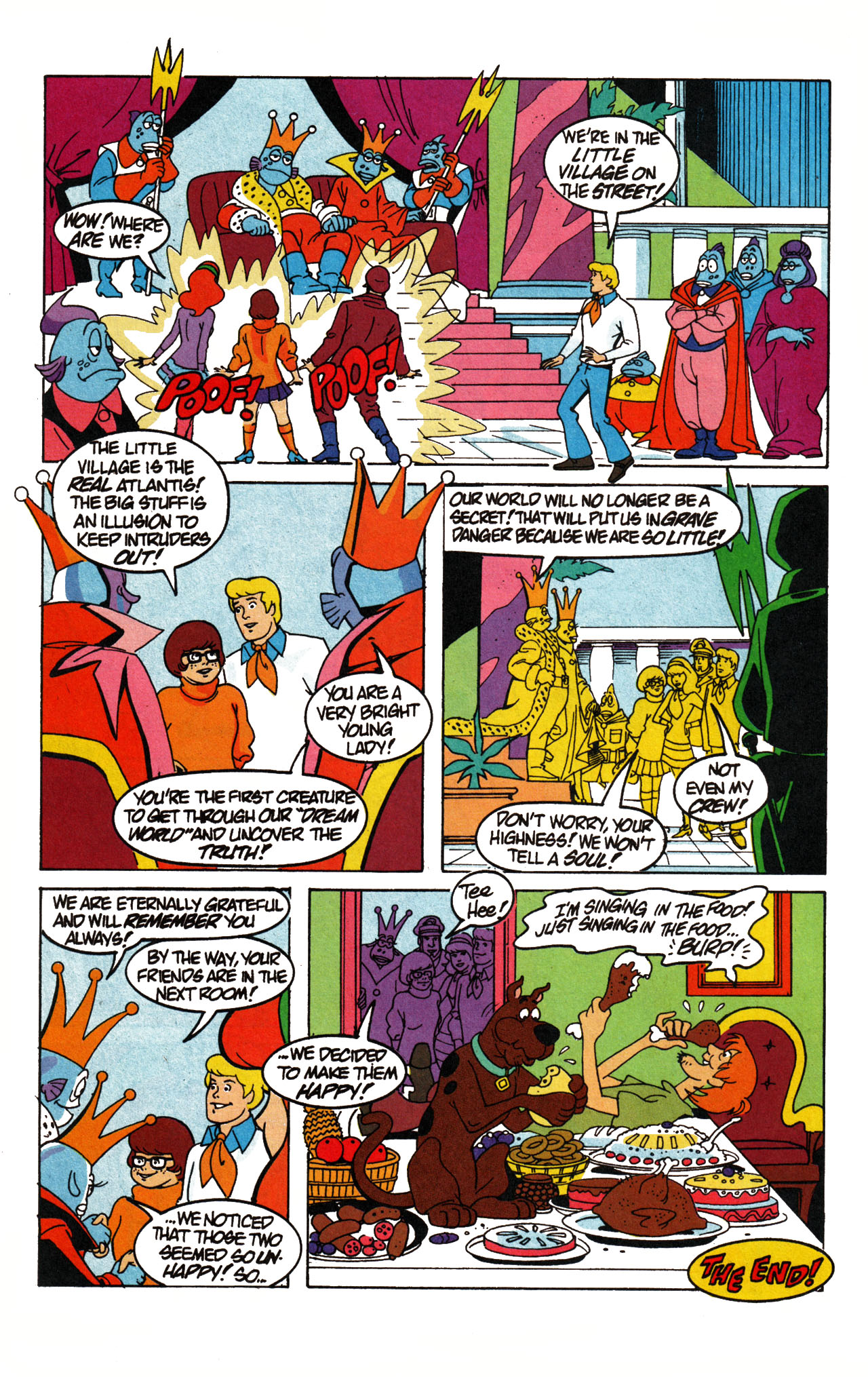 Read online Scooby-Doo (1995) comic -  Issue #15 - 18