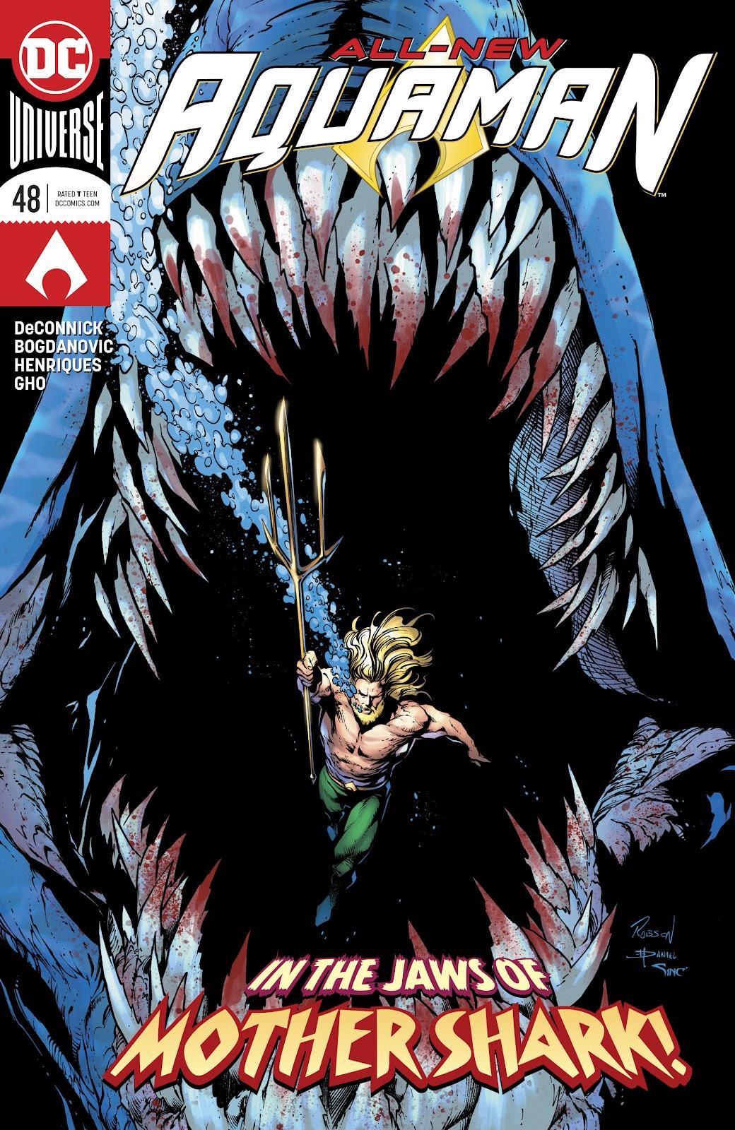 Aquaman (2016) issue 48 - Page 1