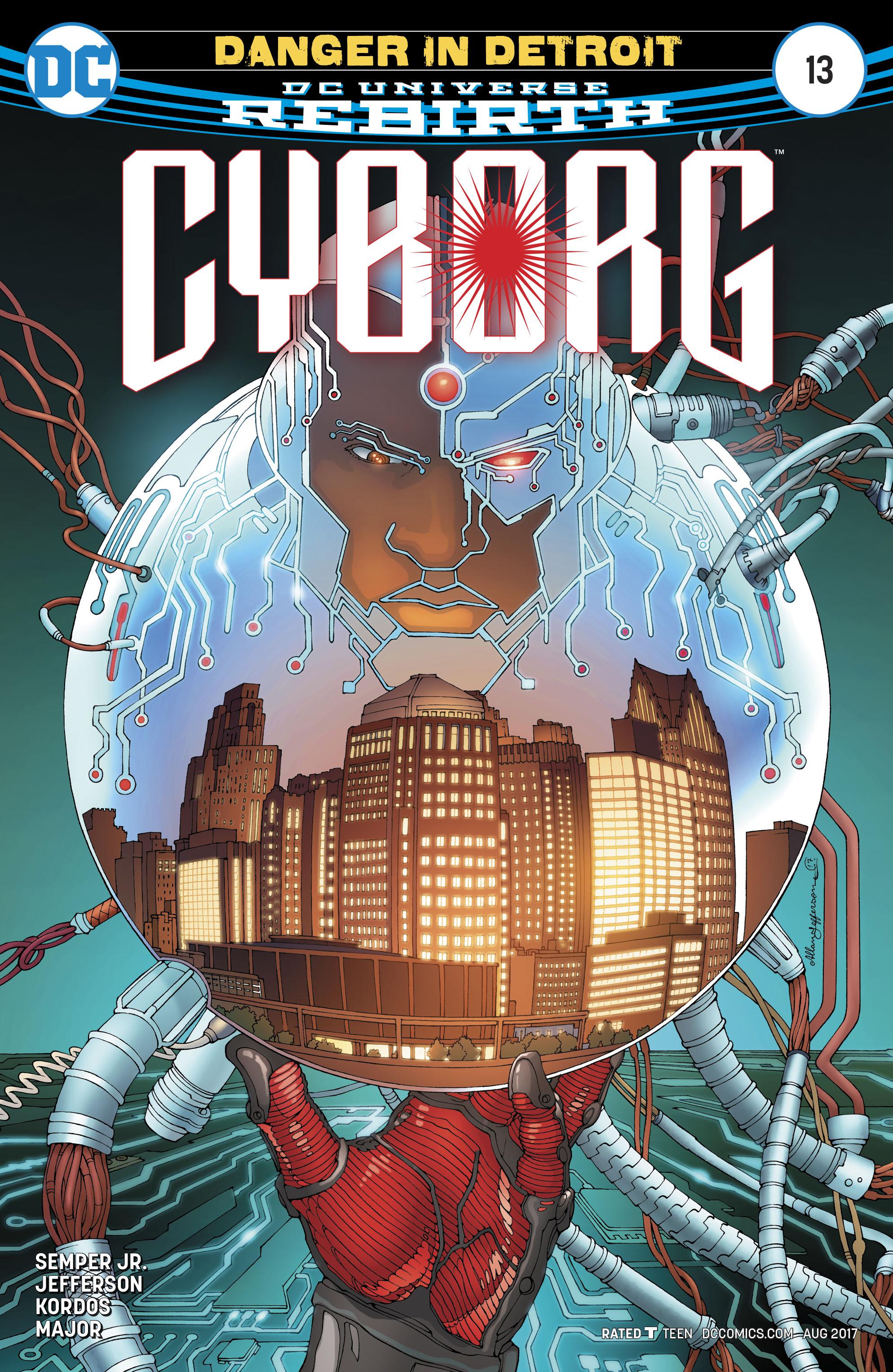 Read online Cyborg (2016) comic -  Issue #13 - 1