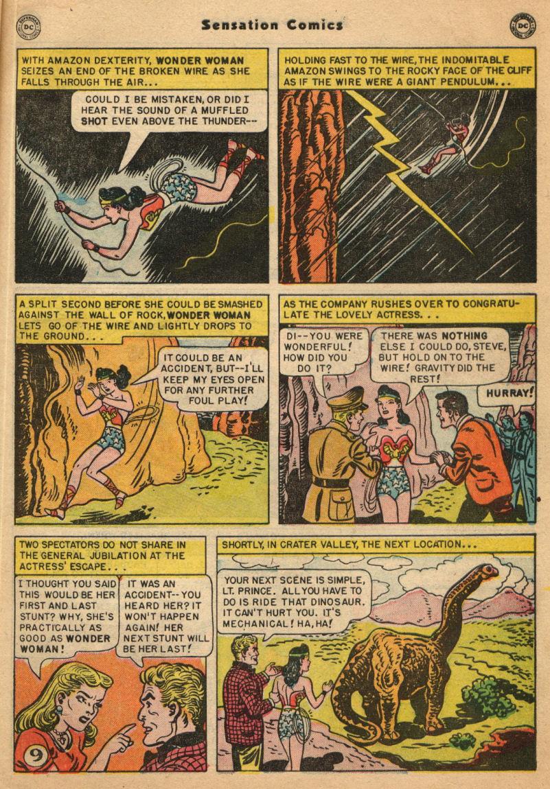Read online Sensation (Mystery) Comics comic -  Issue #100 - 11