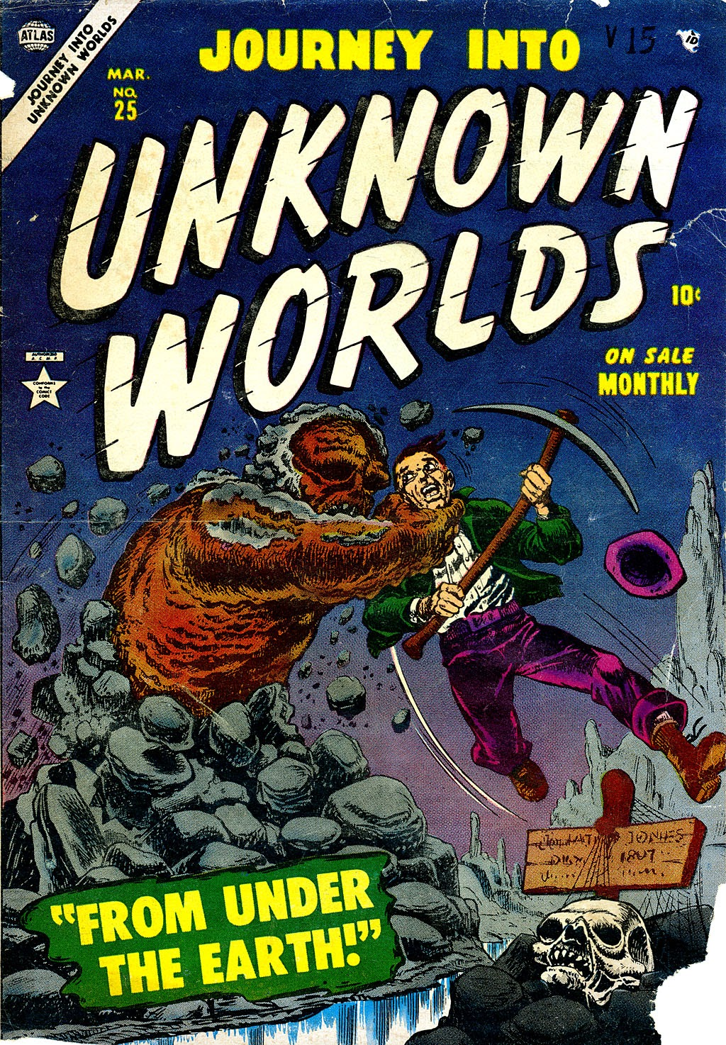 Journey Into Unknown Worlds (1950) issue 25 - Page 1