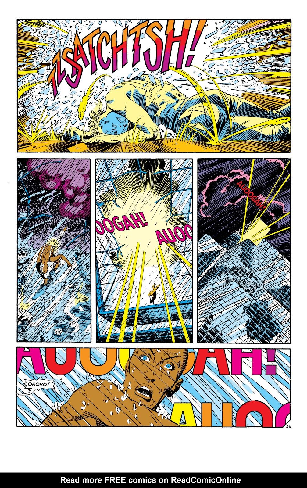 Uncanny X-Men (1963) issue 186 - Page 37