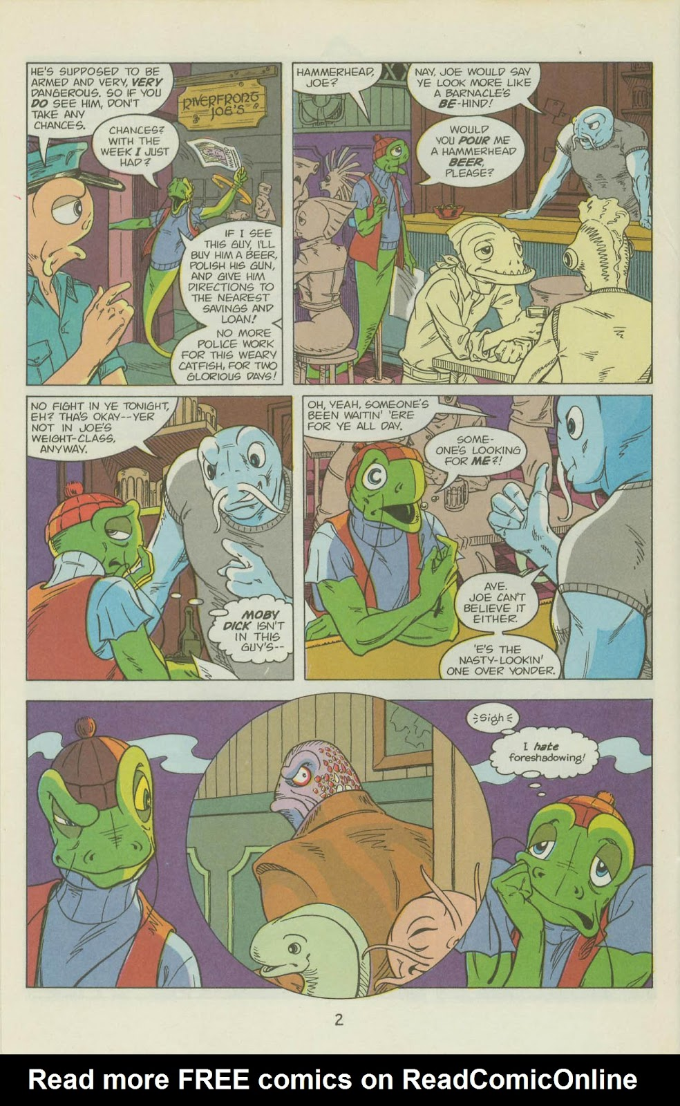 The Fish Police issue 17 - Page 25