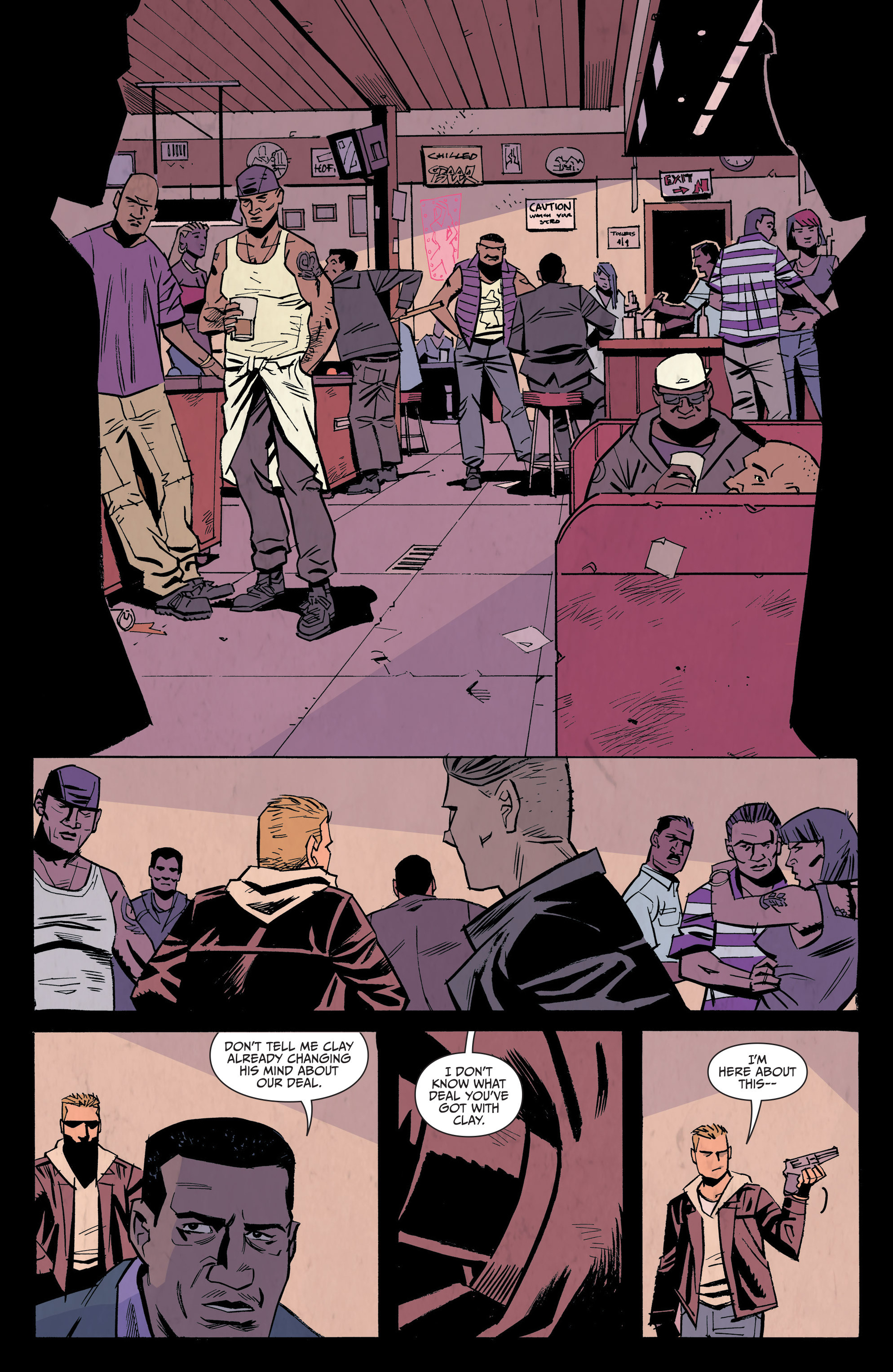 Read online Sons of Anarchy: Redwood Original comic -  Issue #7 - 9