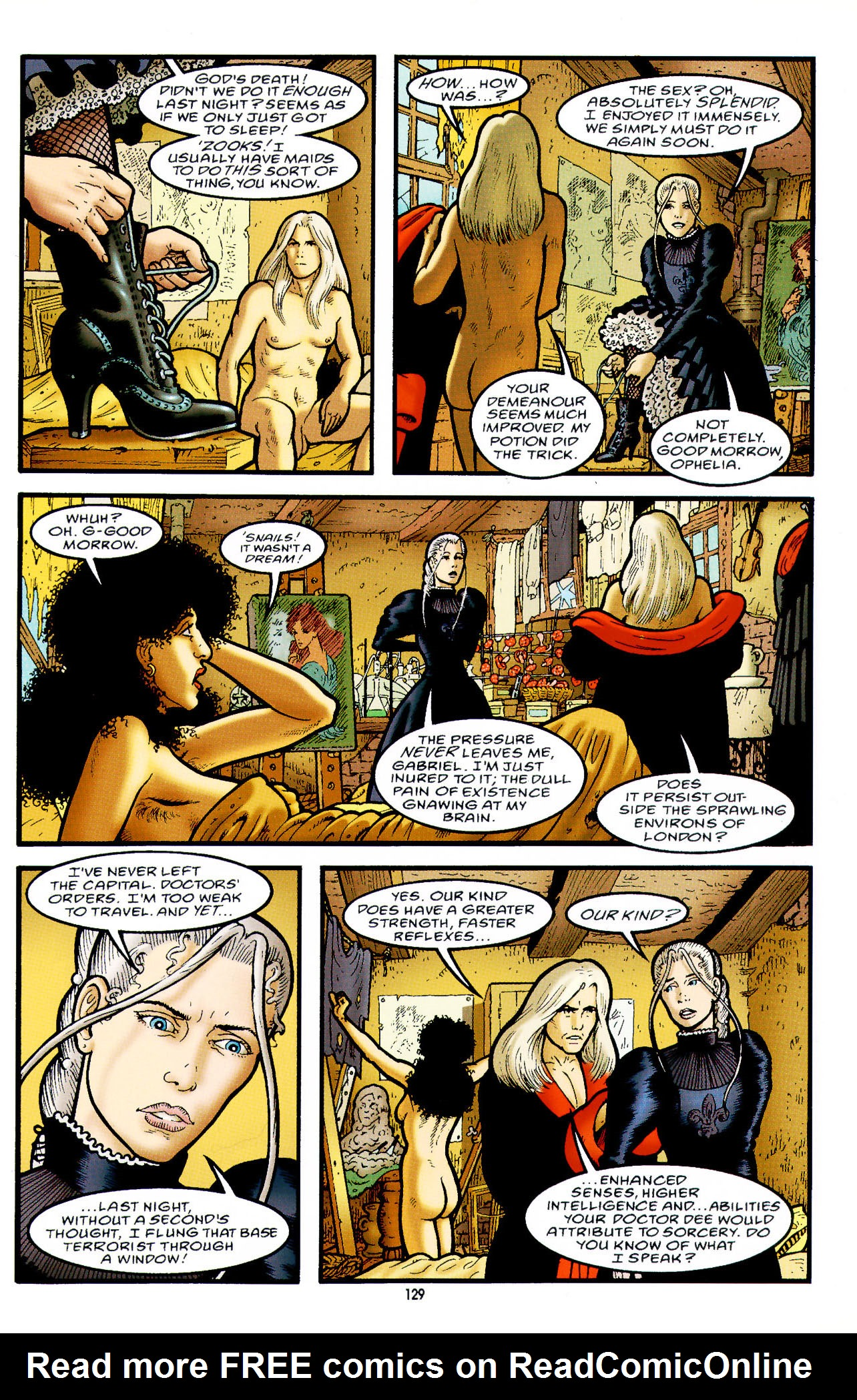 Read online Heart of Empire comic -  Issue #5 - 5