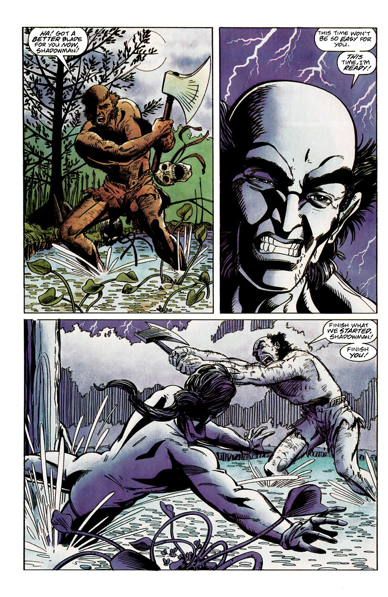Read online Shadowman (1992) comic -  Issue #2 - 19