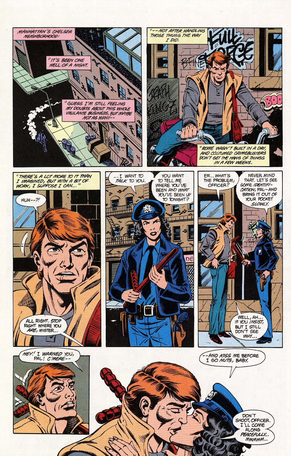 Vigilante (1983) issue 31 - Page 15