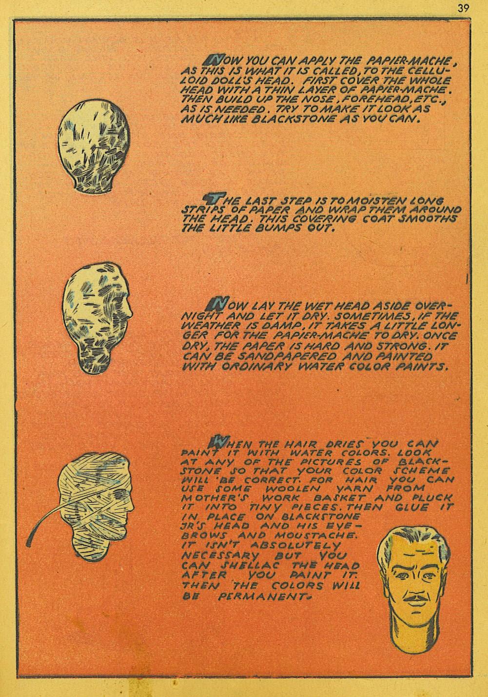 Read online Super-Magician Comics comic -  Issue #10 - 39