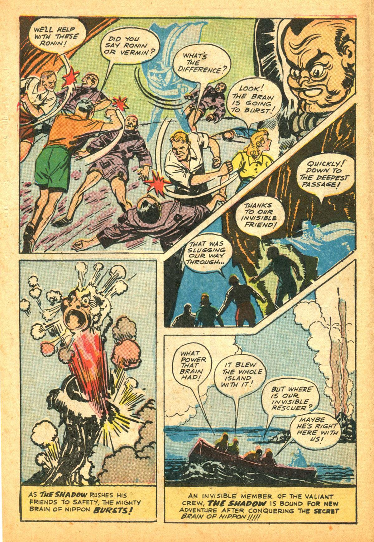 Read online Shadow Comics comic -  Issue #38 - 16