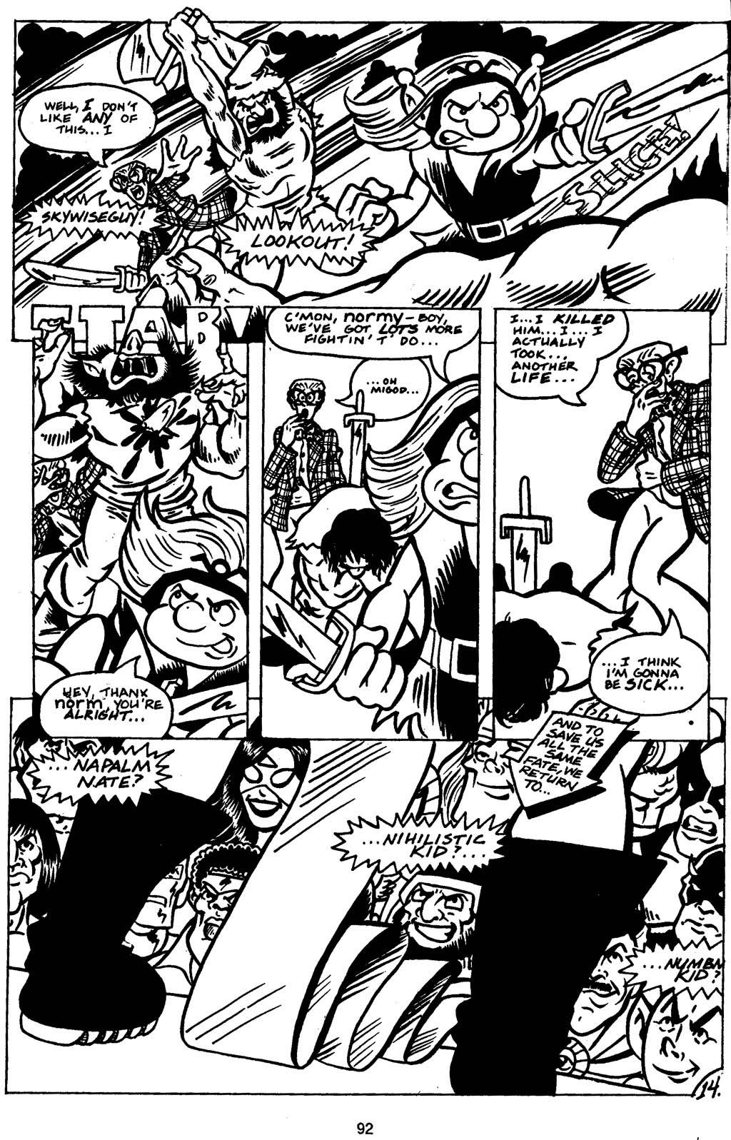 Read online Normalman - The Novel comic -  Issue # TPB (Part 1) - 94