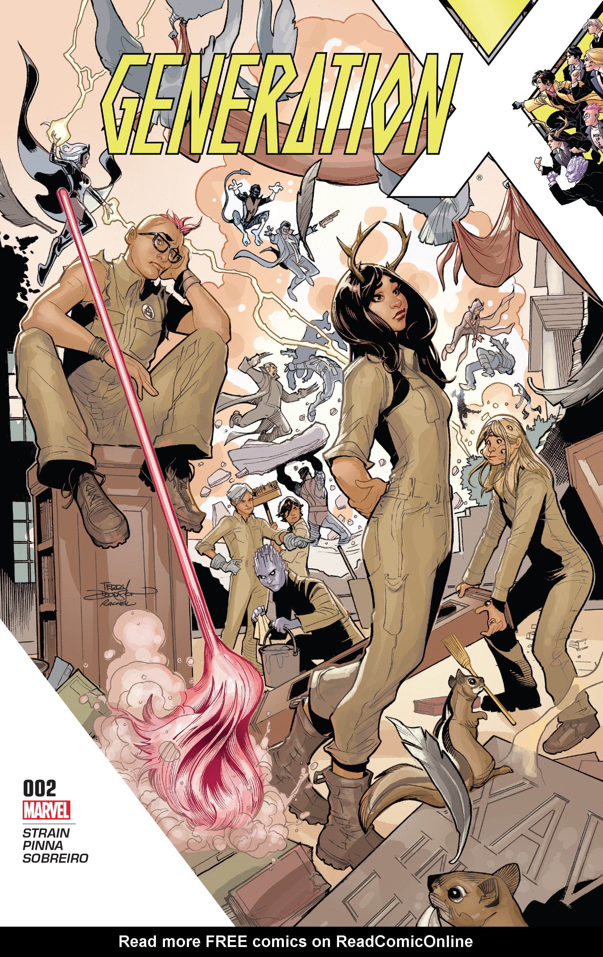 Read online Generation X (2017) comic -  Issue #2 - 1